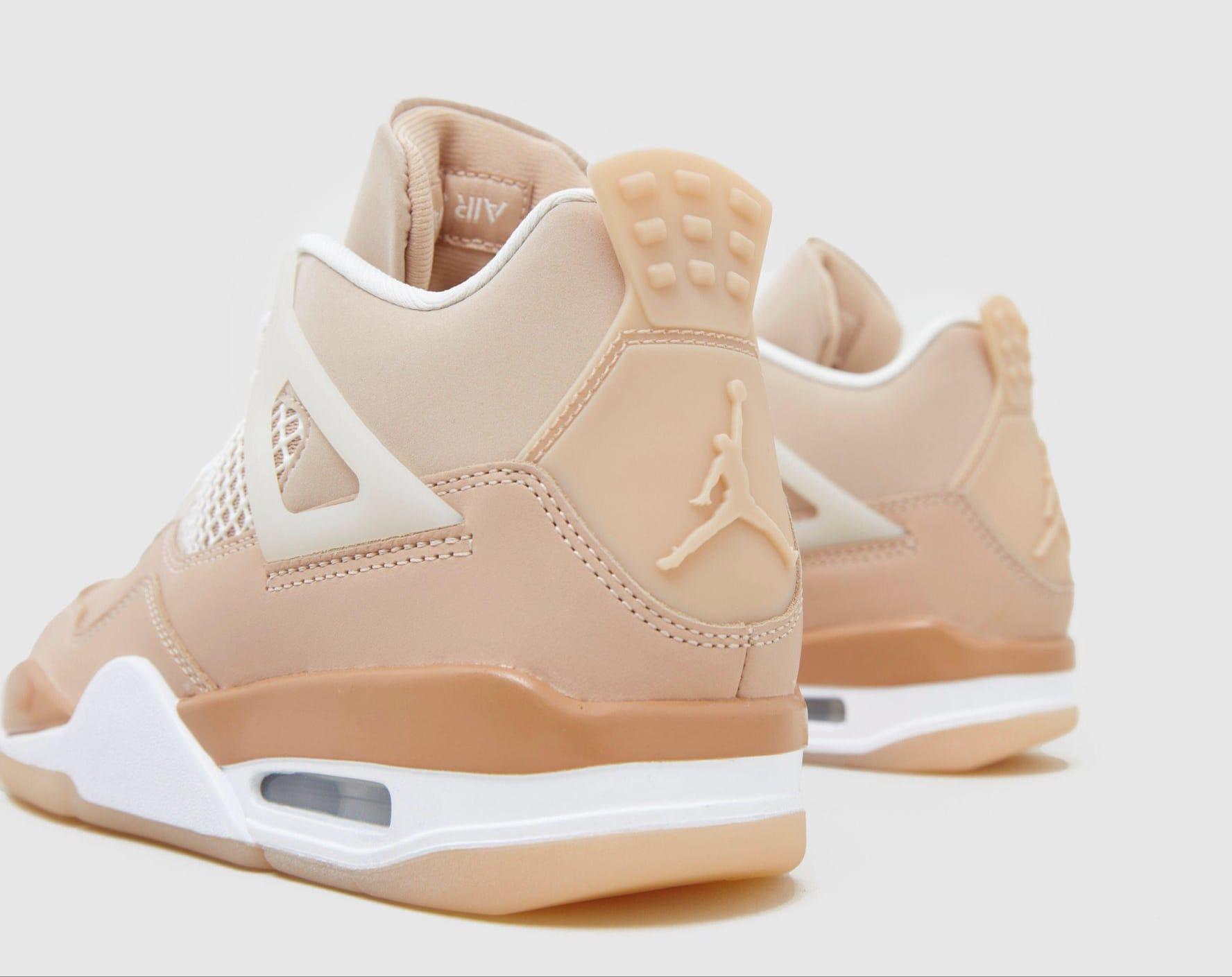 Air Jordan 4 Women's 'Shimmer' DJ0675-200 Heel
