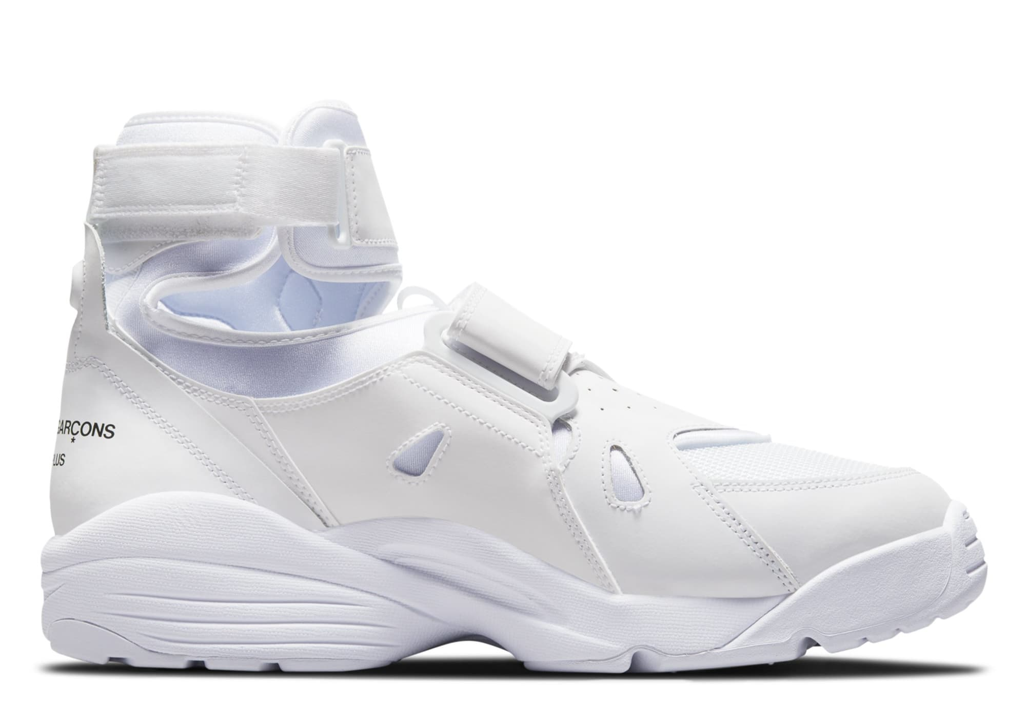 Comme des Garcons Homme Plus x Nike Air Carnivore 'White' (Medial)