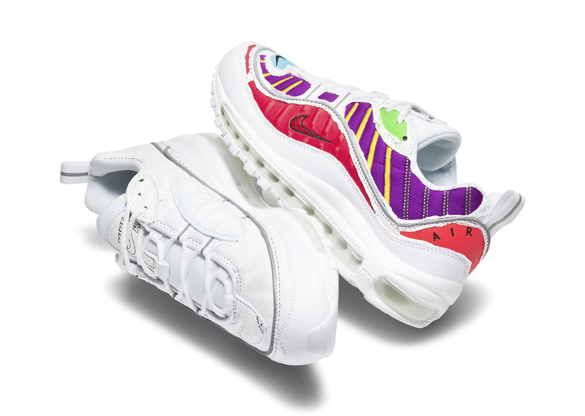 Nike Air Max 98 Tearaway CJ0634-101 Side