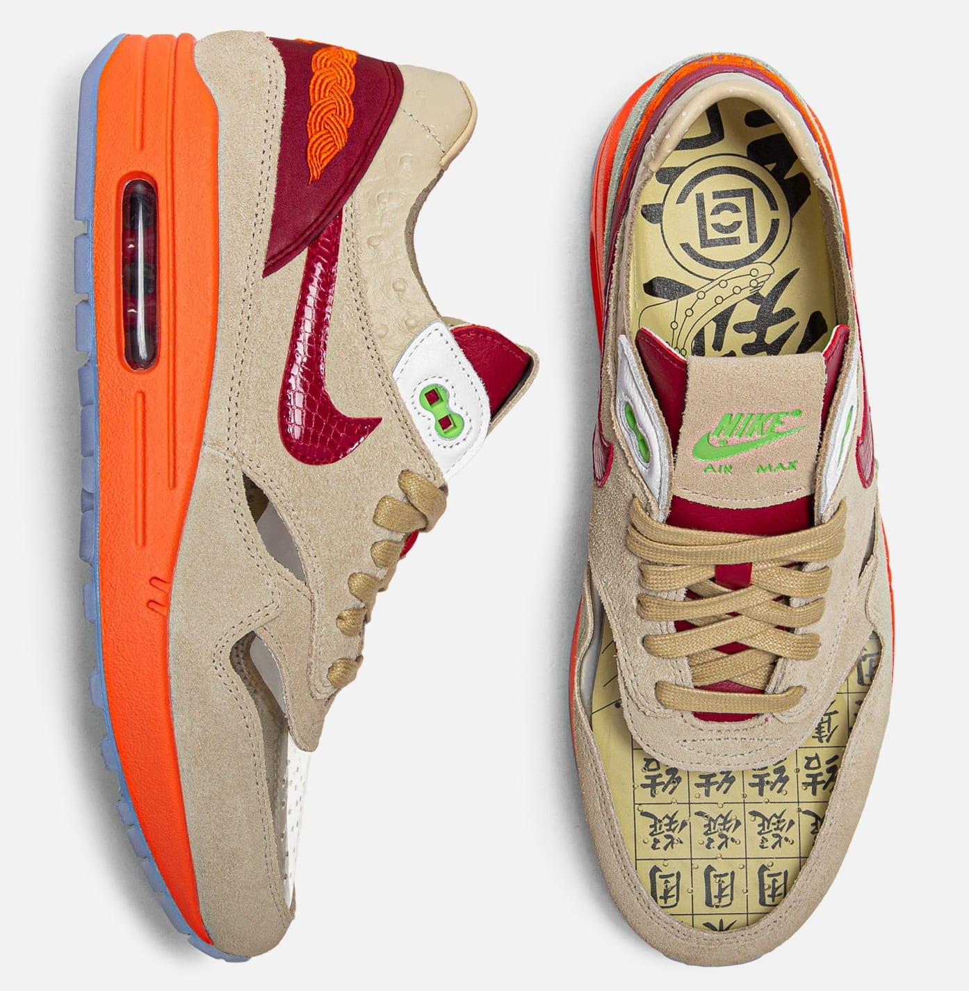 CLOT x Nike Air Max 1 Kiss of Death Release Date Top