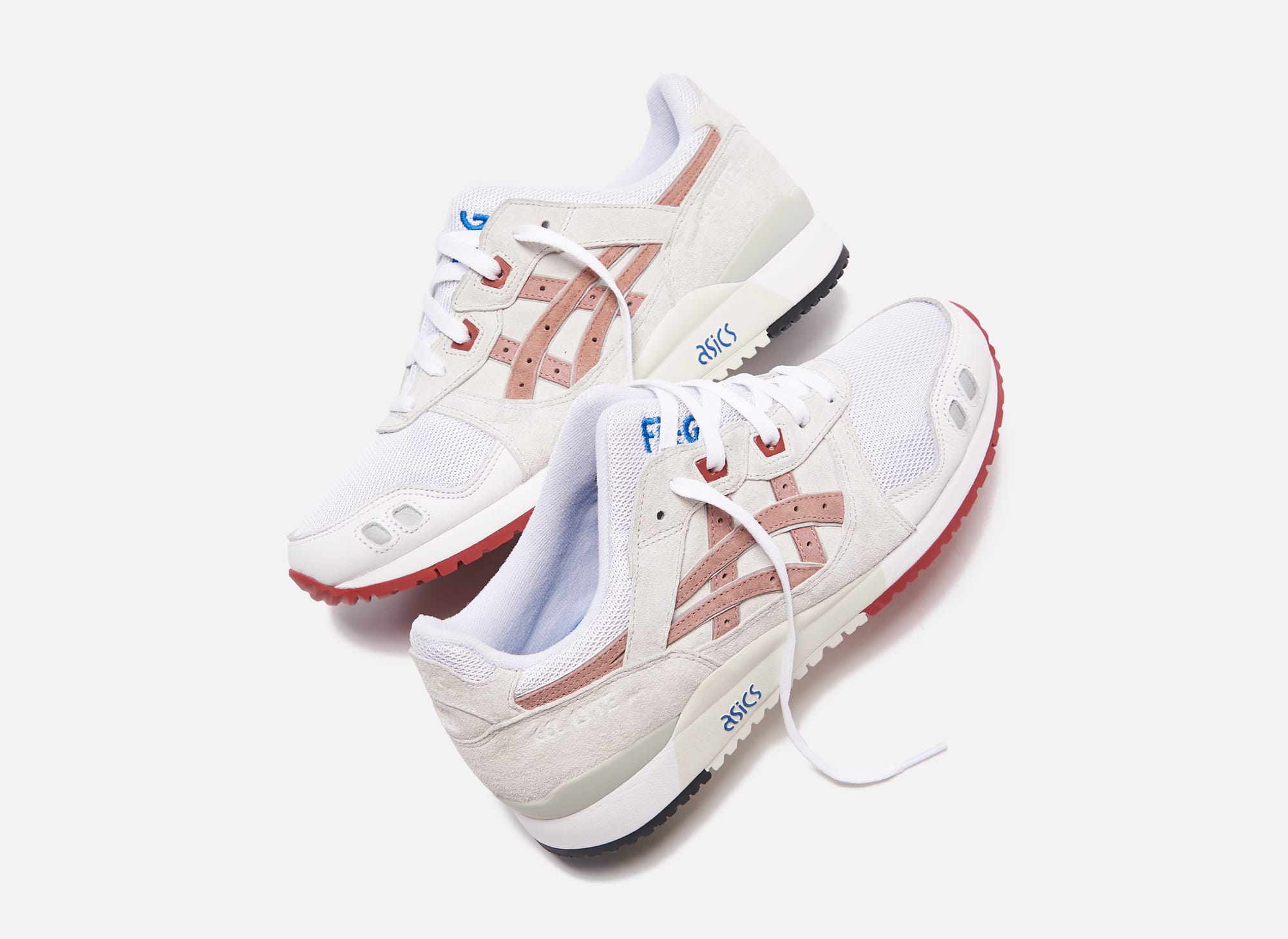 Ronnie Fieg x Asics Gel-Lyte 3 'Yoshino Rose' Side