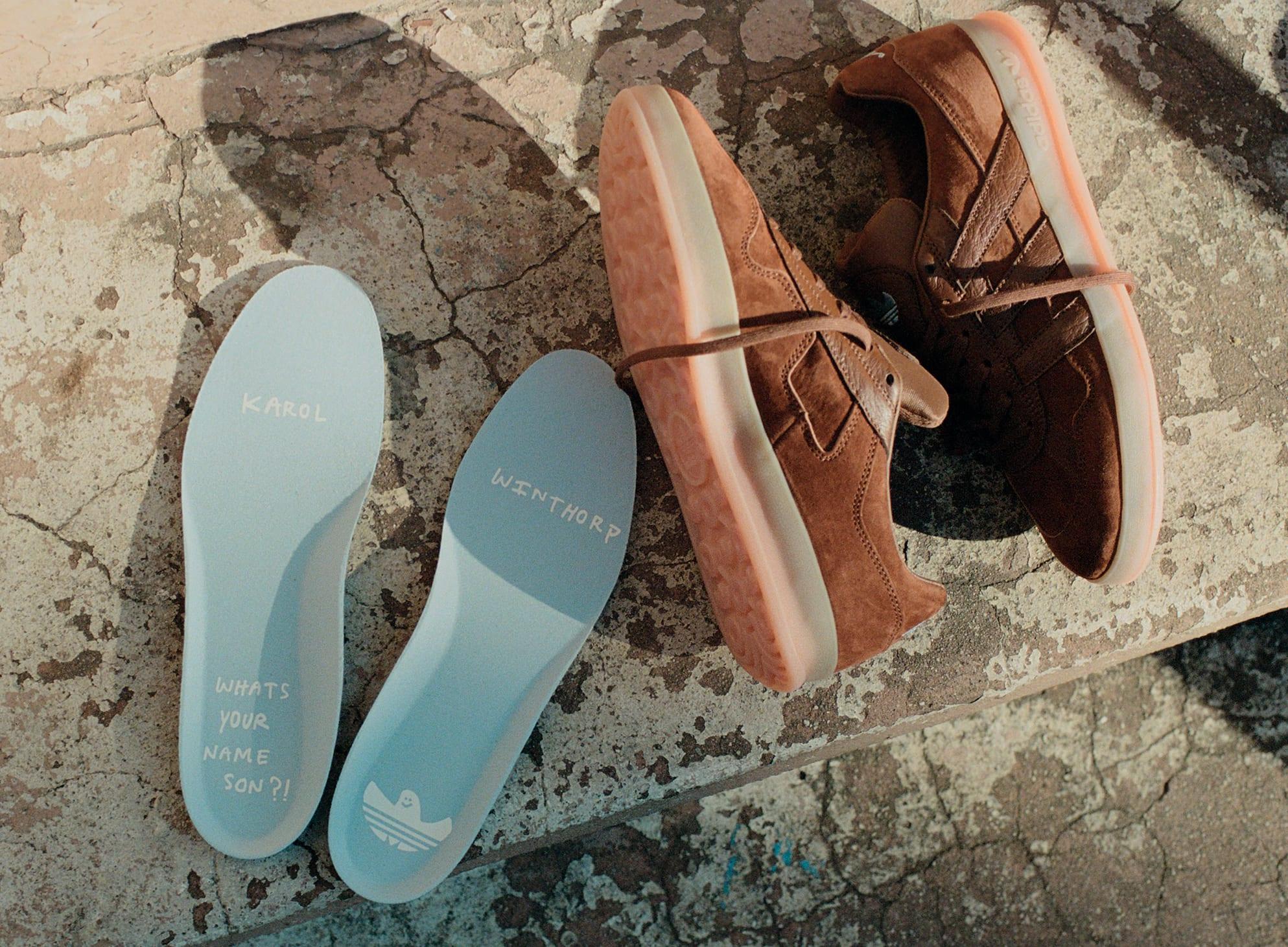 Adidas Alpha Super 'Karol Winthorp' Side