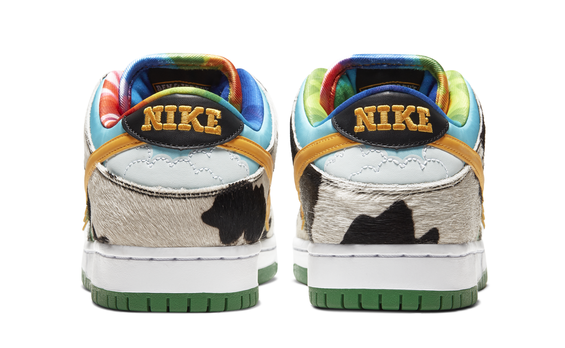 Ben and Jerry's x Nike SB Dunk Low 'Chunky Dunky' CU3244-100 (Heels)