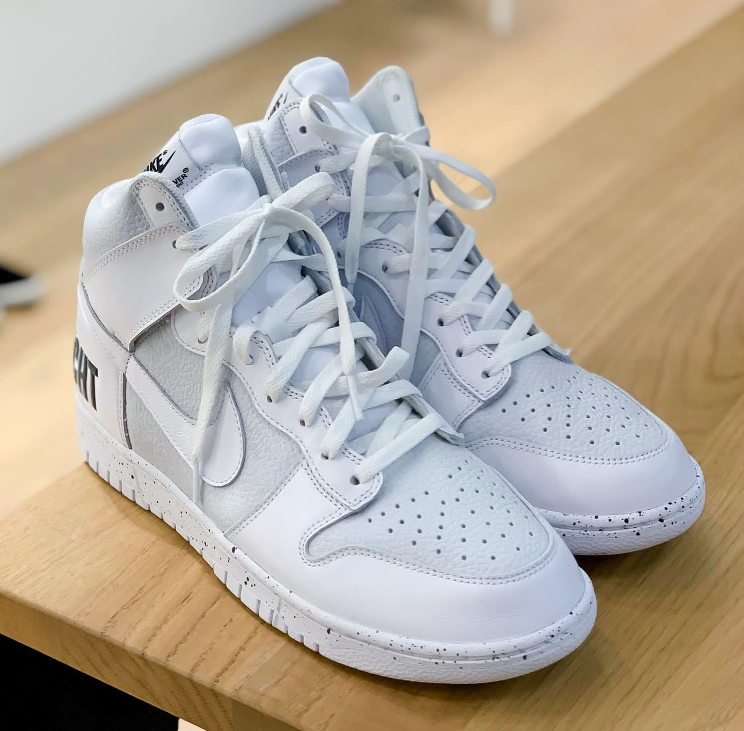 Undercover x Nike Dunk High White Pair