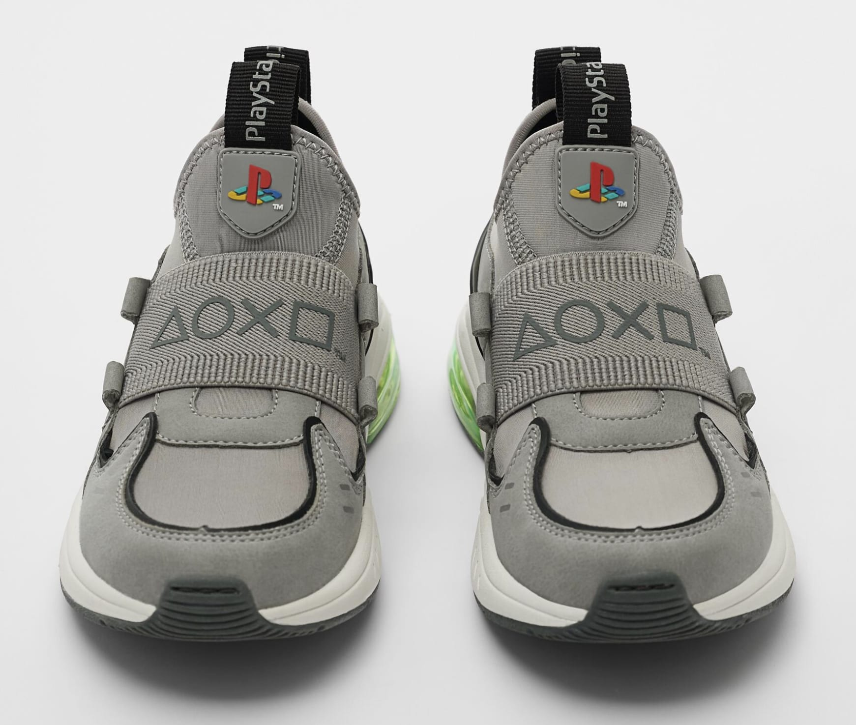 Sony x Zara Playstation Interactive Sneakers Front
