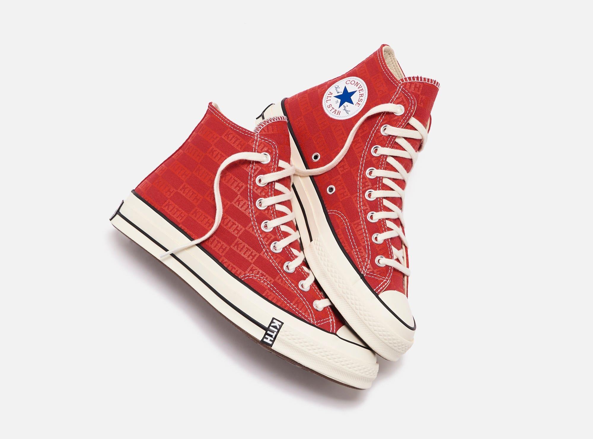 Kith x Converse Chuck 70 'Red' (Pair)