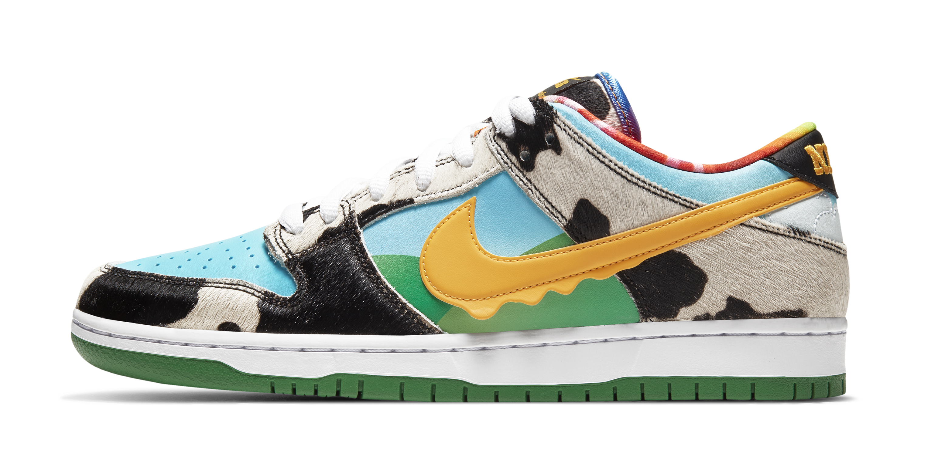 Ben and Jerry's x Nike SB Dunk Low 'Chunky Dunky' CU3244-100 (Lateral)