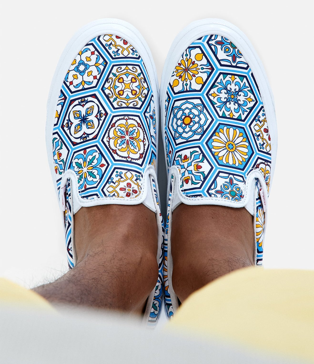 Kith x Vans Slip-On Summer 2020 Collection Blue Top