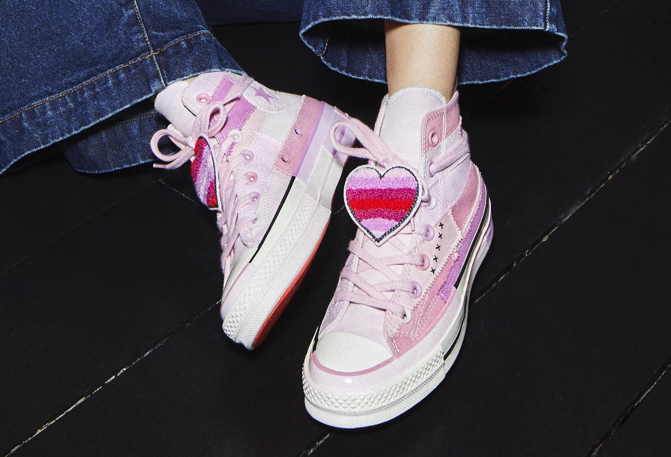 Millie Bobby Brown & Converse Team Up For New Colorful Collab: Photos