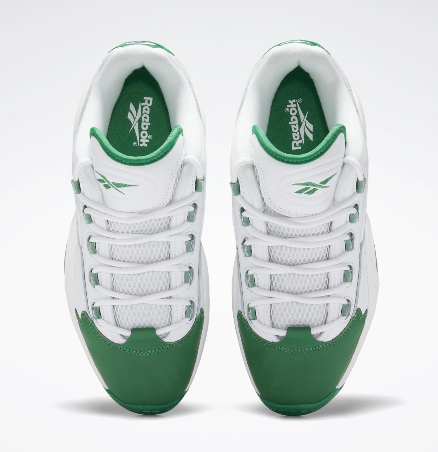 Reebok Question Low 'Green Toe' GZ0367 Top