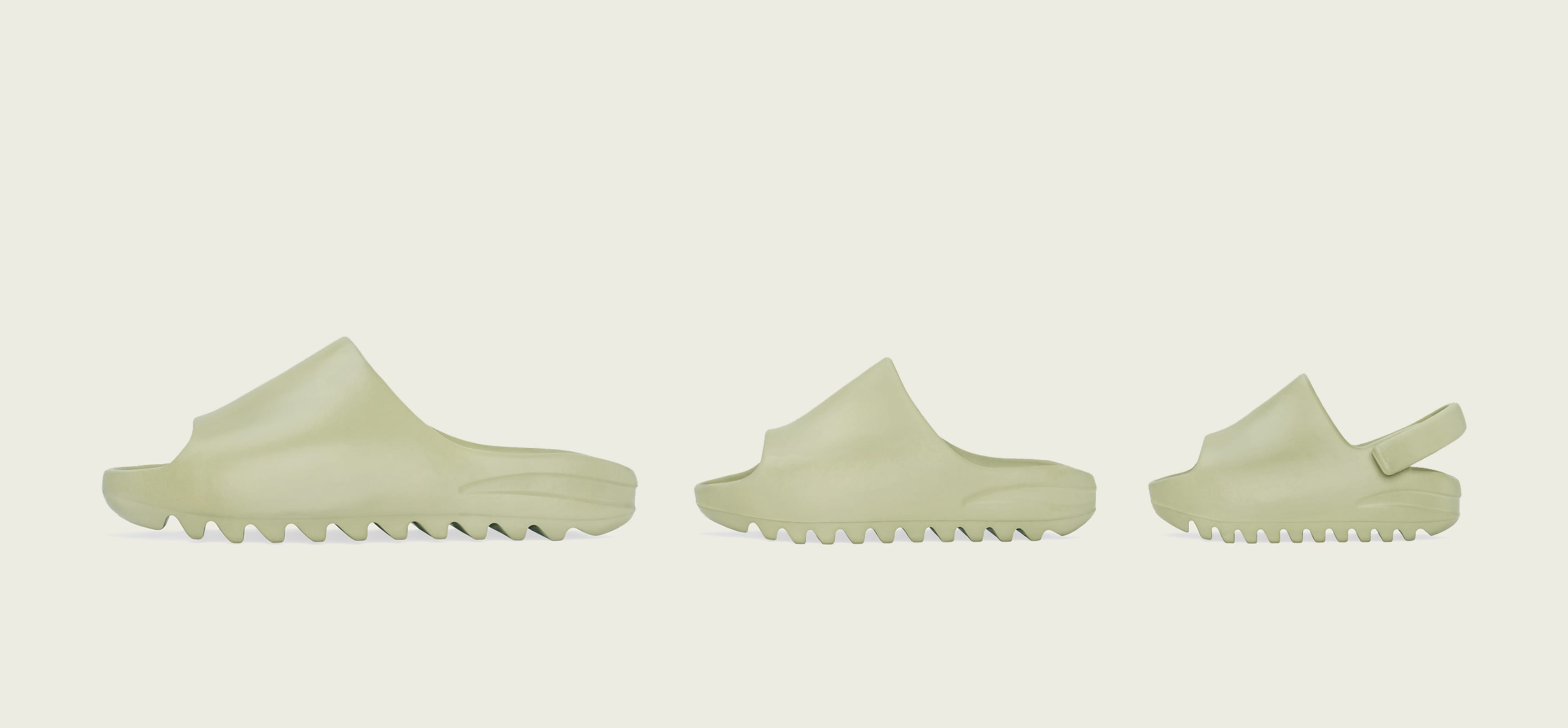 Adidas Yeezy Slide 'Resin' (Left)