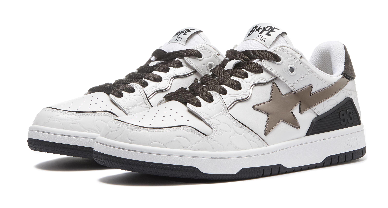 Bape Sk8 Sta White/Brown
