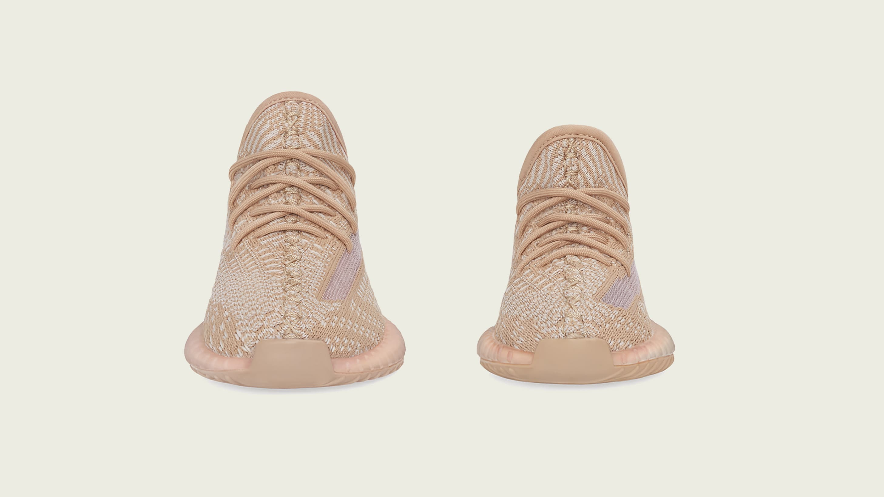 Adidas Yeezy Boost 350 V2 'Clay' Kids (Front)