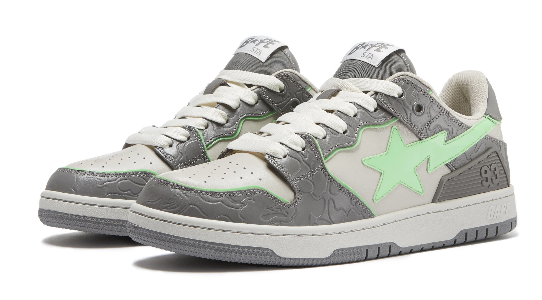 Bape Sk8 Sta Grey/Green