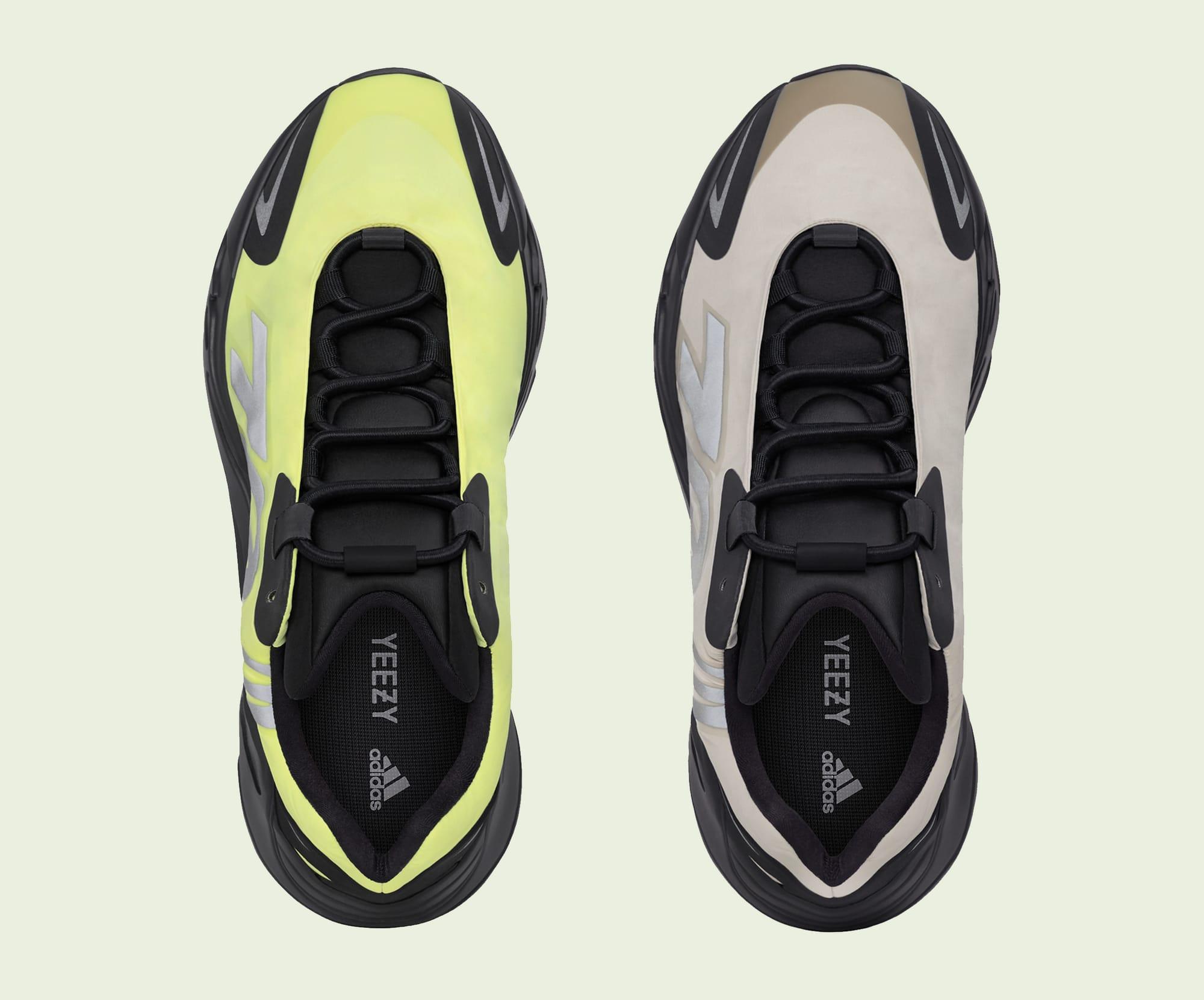 Adidas Yeezy Boost 700 MNVN 'Phosphor' 'Bone' Top