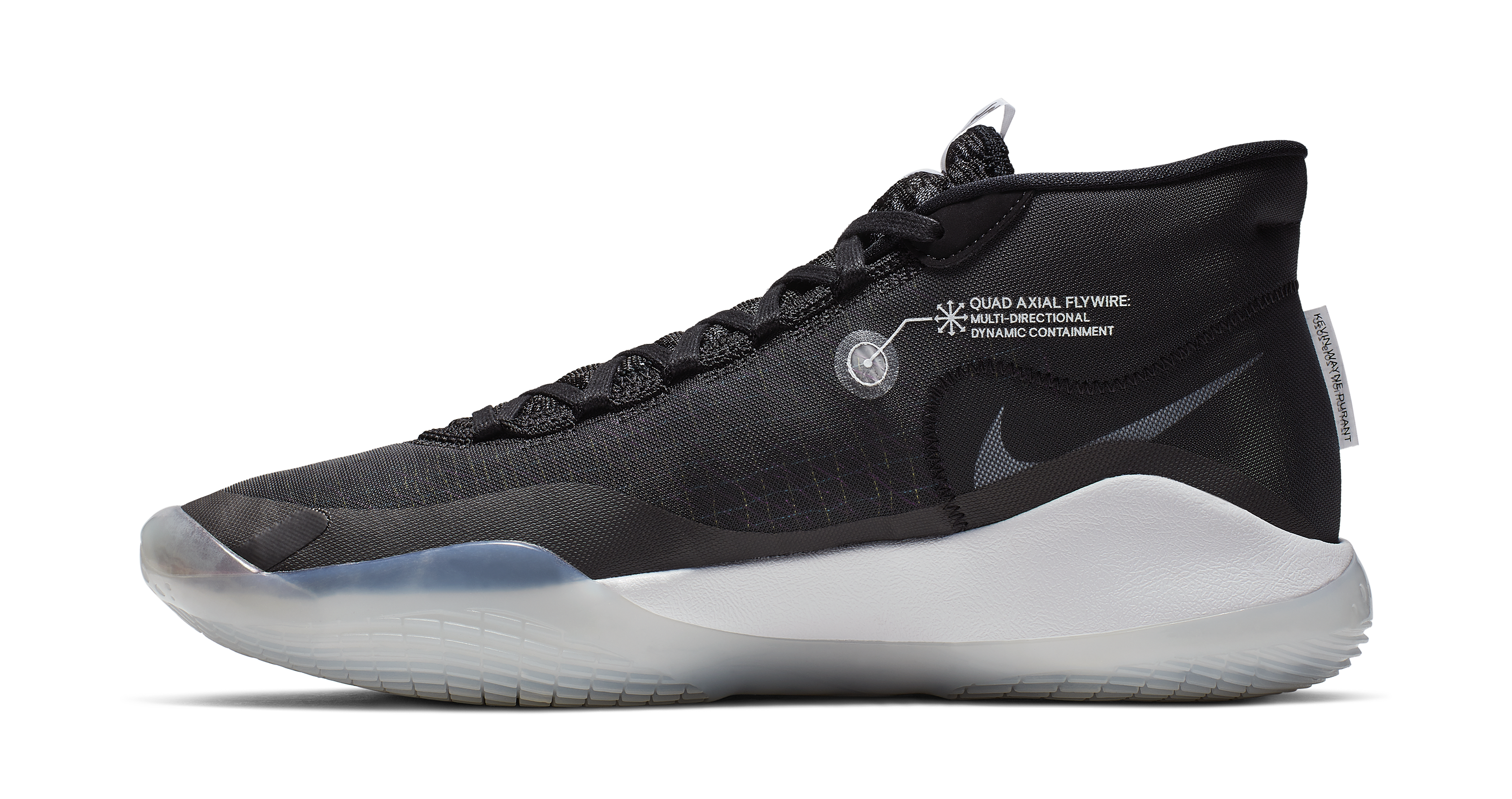 Nike KD 12 'The Day One' AR4229-001 (Medial)