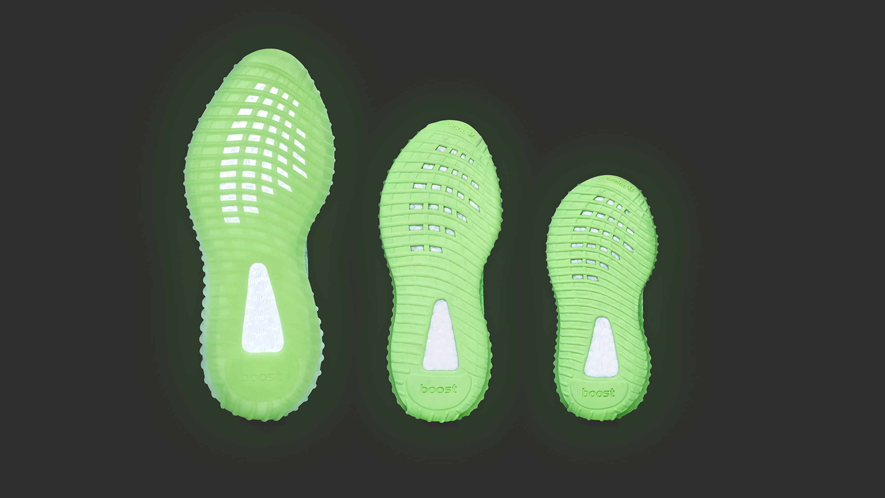 Adidas Yeezy Boost 350 V2 'Glow' PR300 (Bottom)