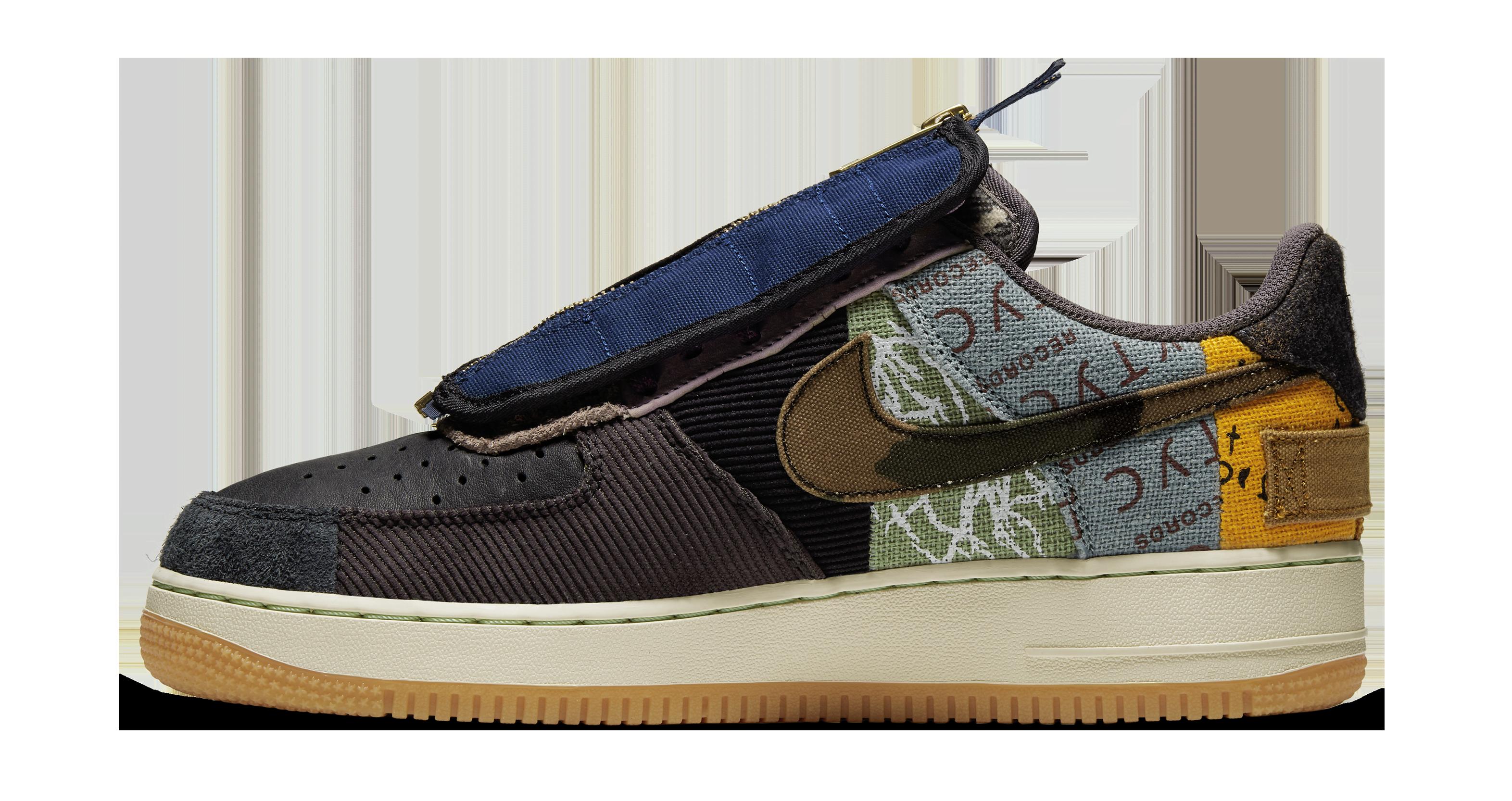 Travis Scott x Nike Air Force 1 Low 'Multi ColorMuted