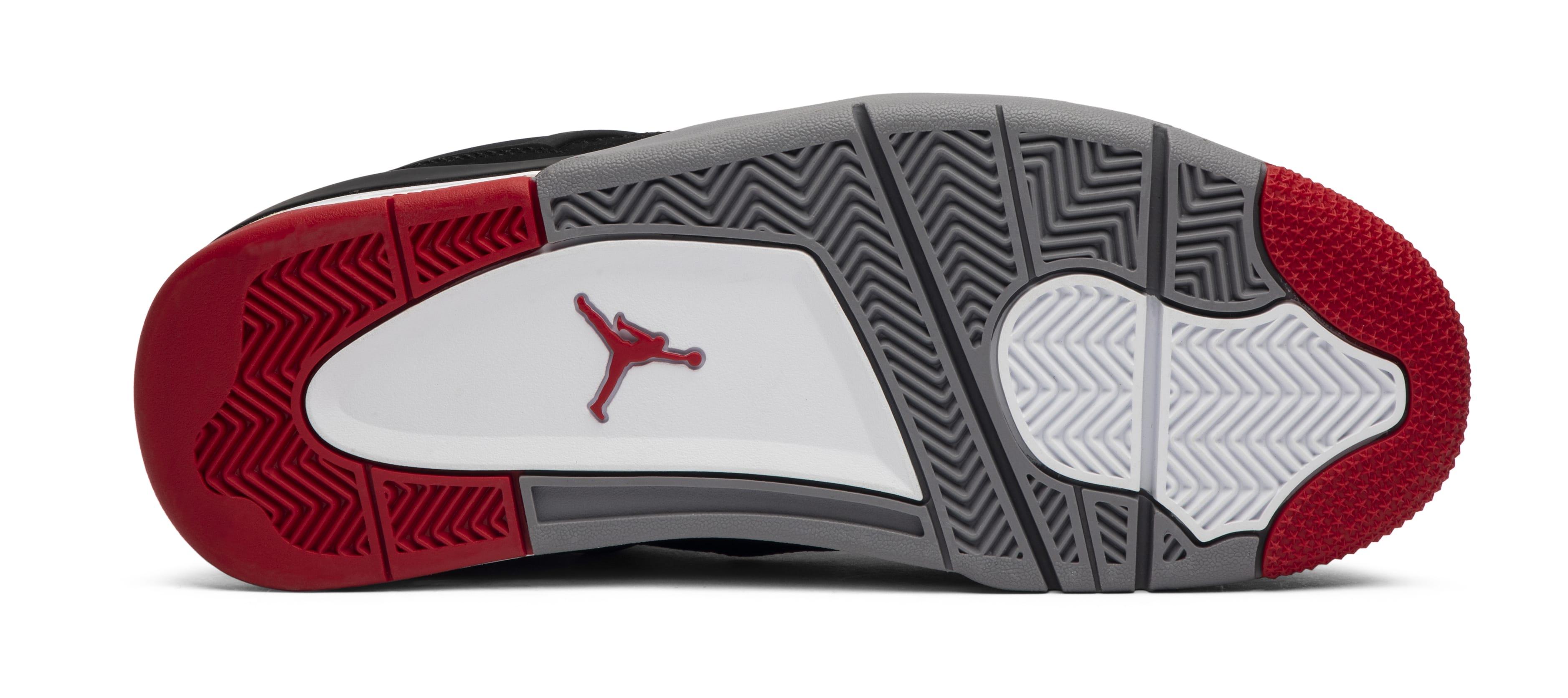 Air Jordan 4 'Bred' 2012 (Outsole)