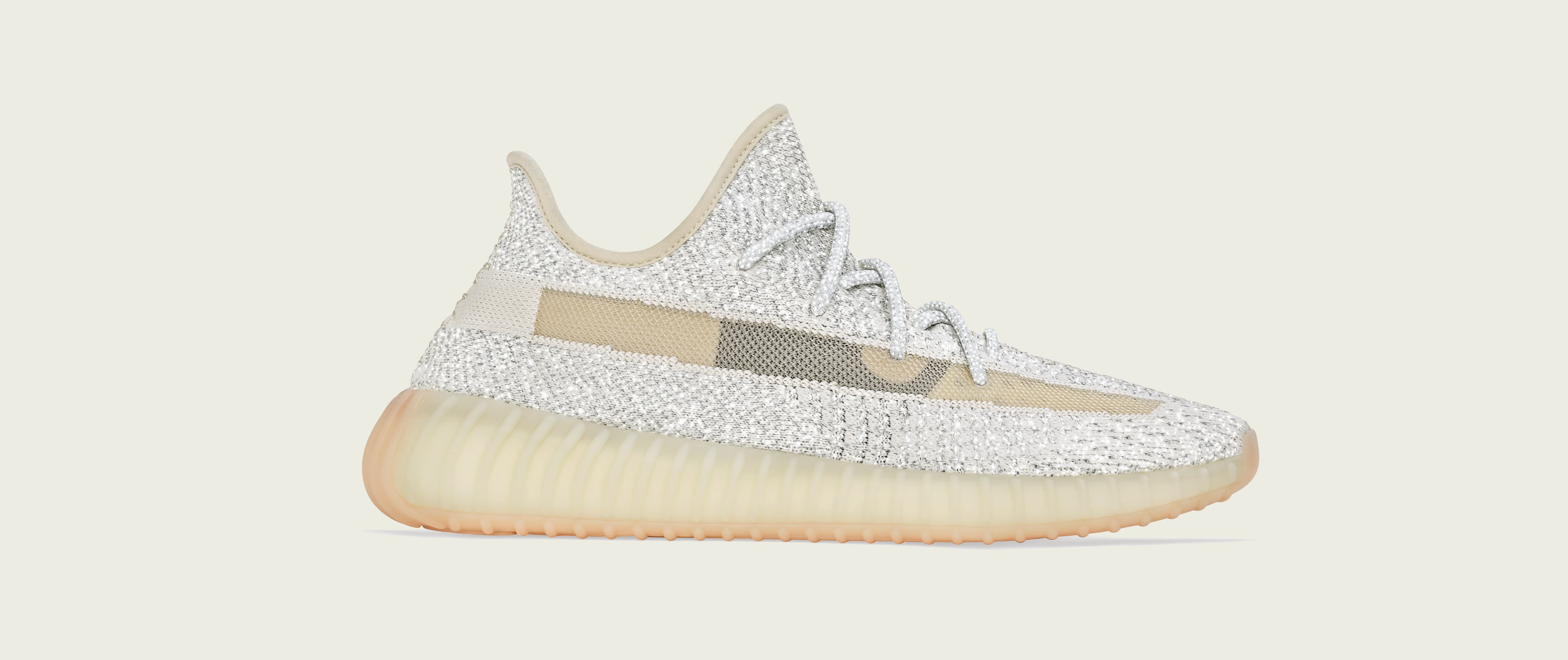 Adidas Yeezy Boost 350 V2 'Lundmark/Reflective' (Lateral)