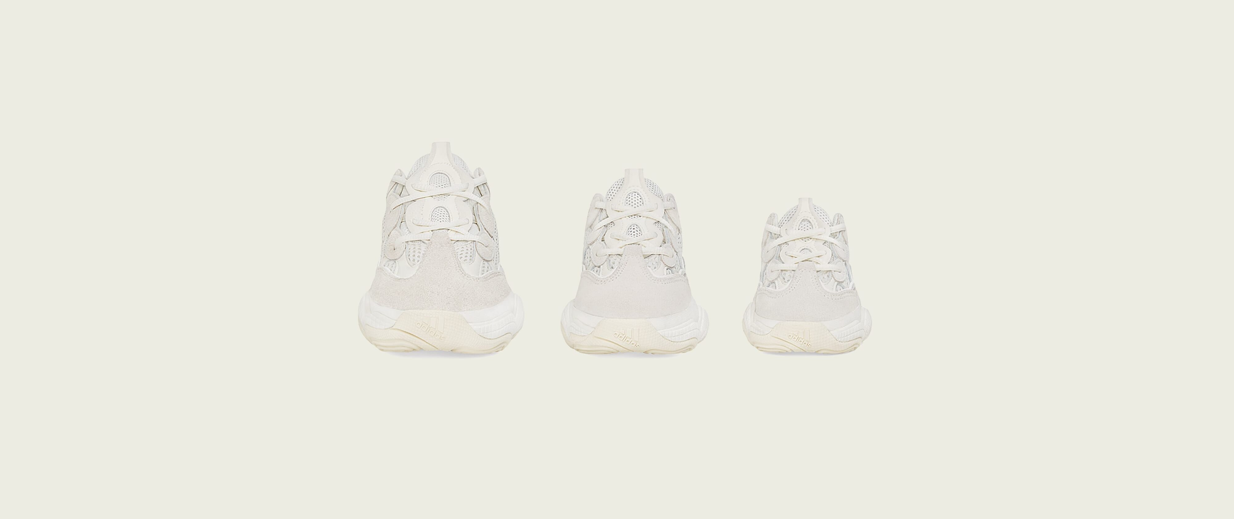 check out 93baa 22110 Adidas Yeezy 500 'Bone White' Release Date | Sole Collector