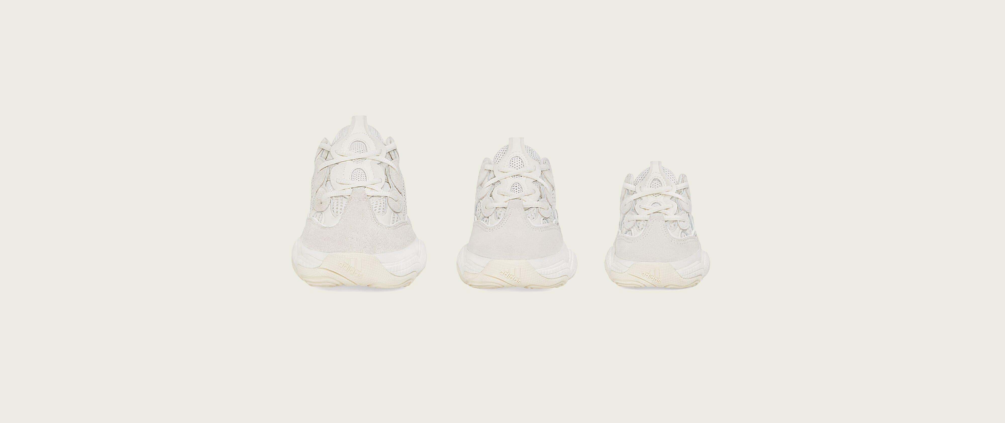 Adidas Yeezy 500 'Bone White' (Toe)