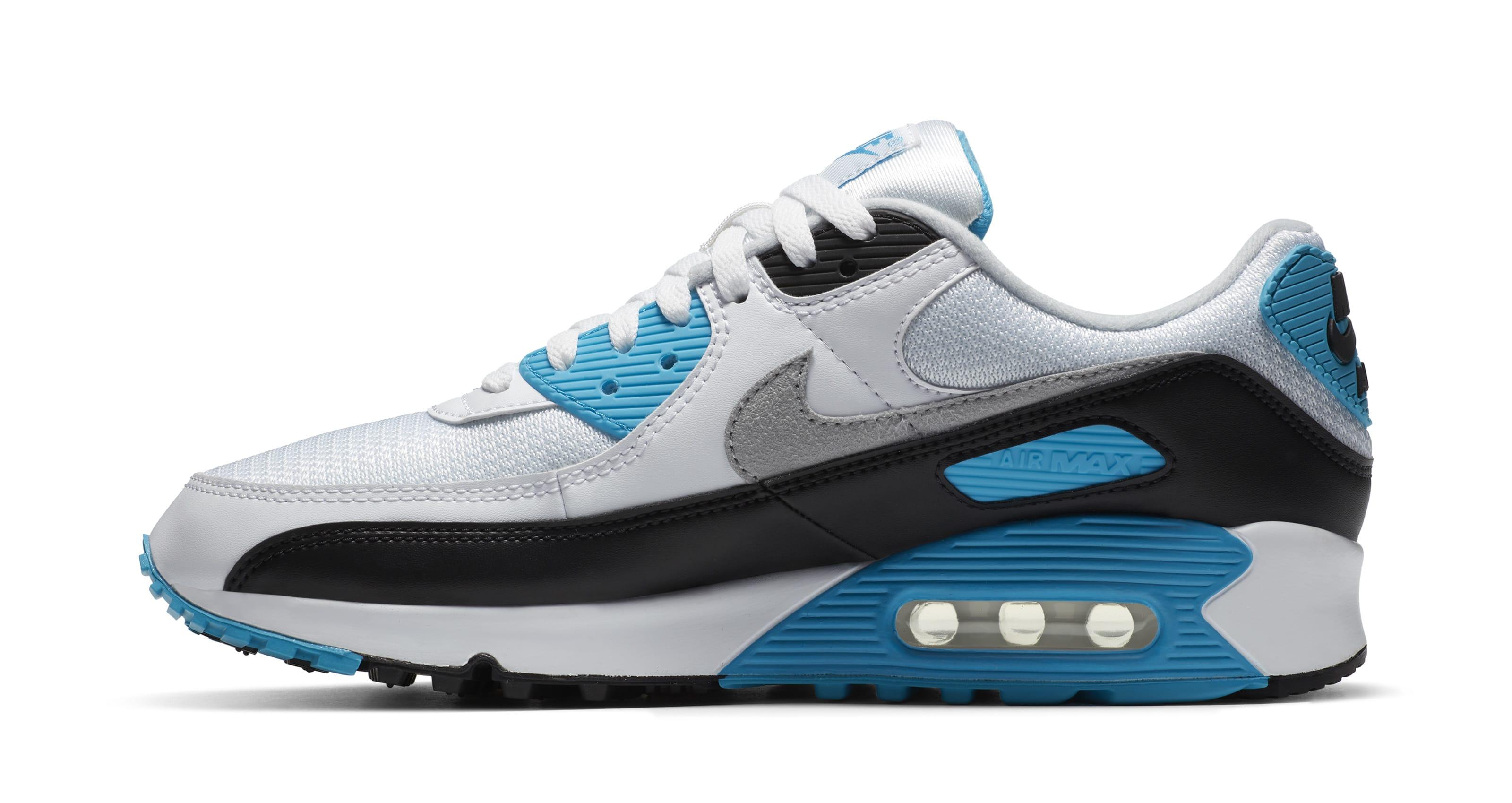 Nike Air Max 90 'Laser Blue' 2020 Lateral