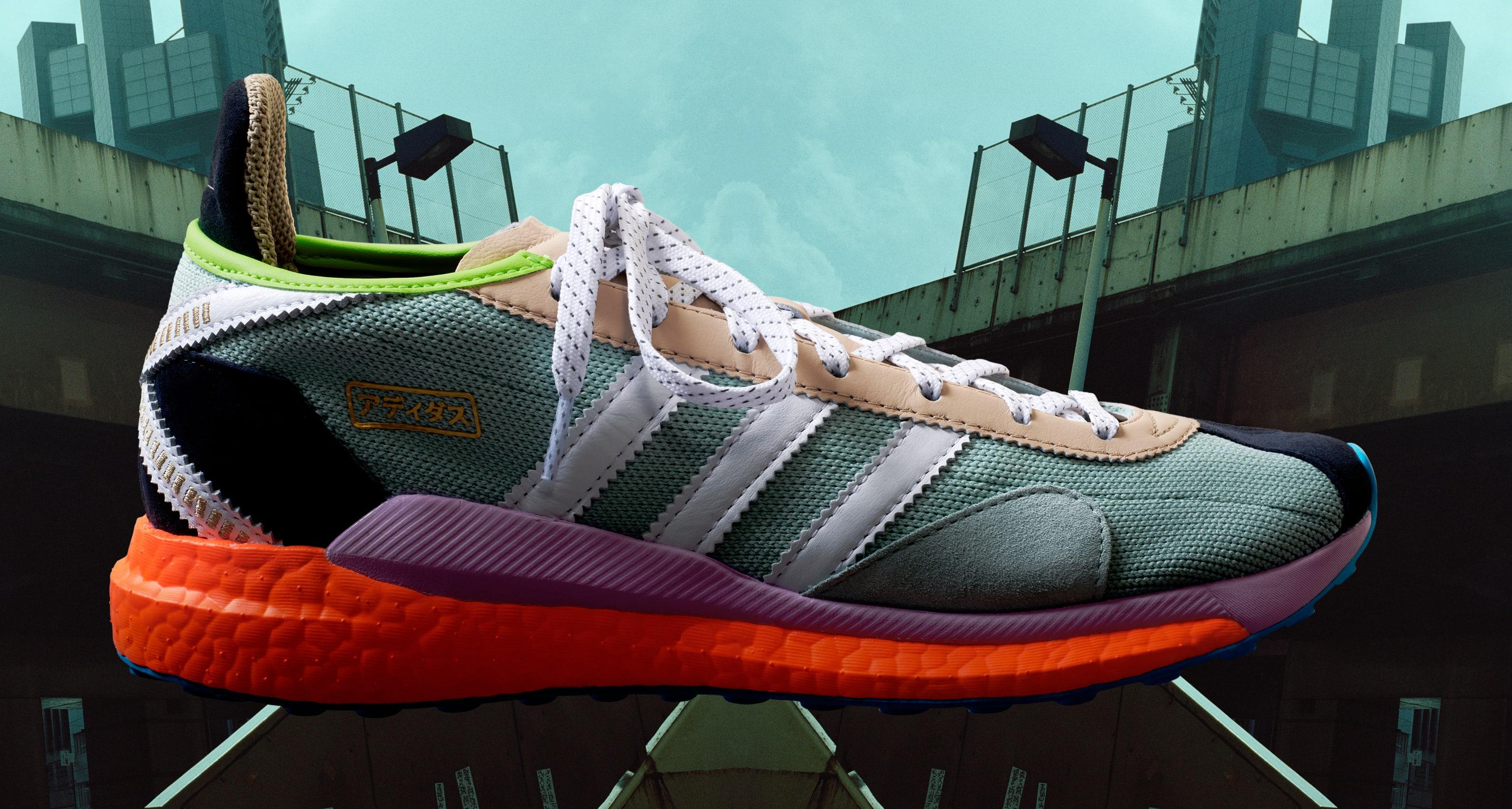 Pharrell x NIGO x Adidas Tokio Solar Hu 'Friendship Pack'