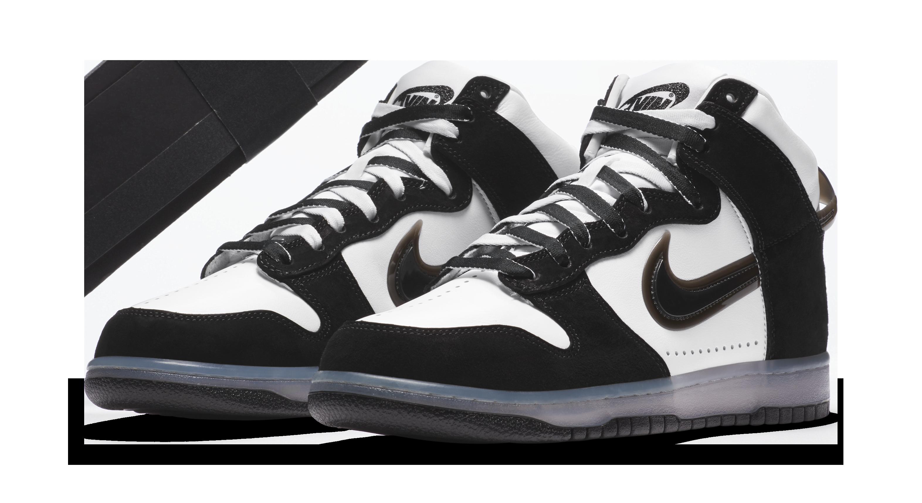 Slam Jam x Nike Dunk High SP 'Black' Pair