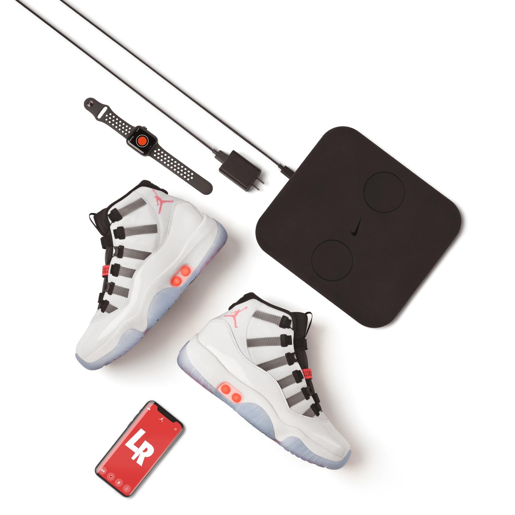 Air Jordan XI 11 Adapt DA7990-100 Release Date Tech