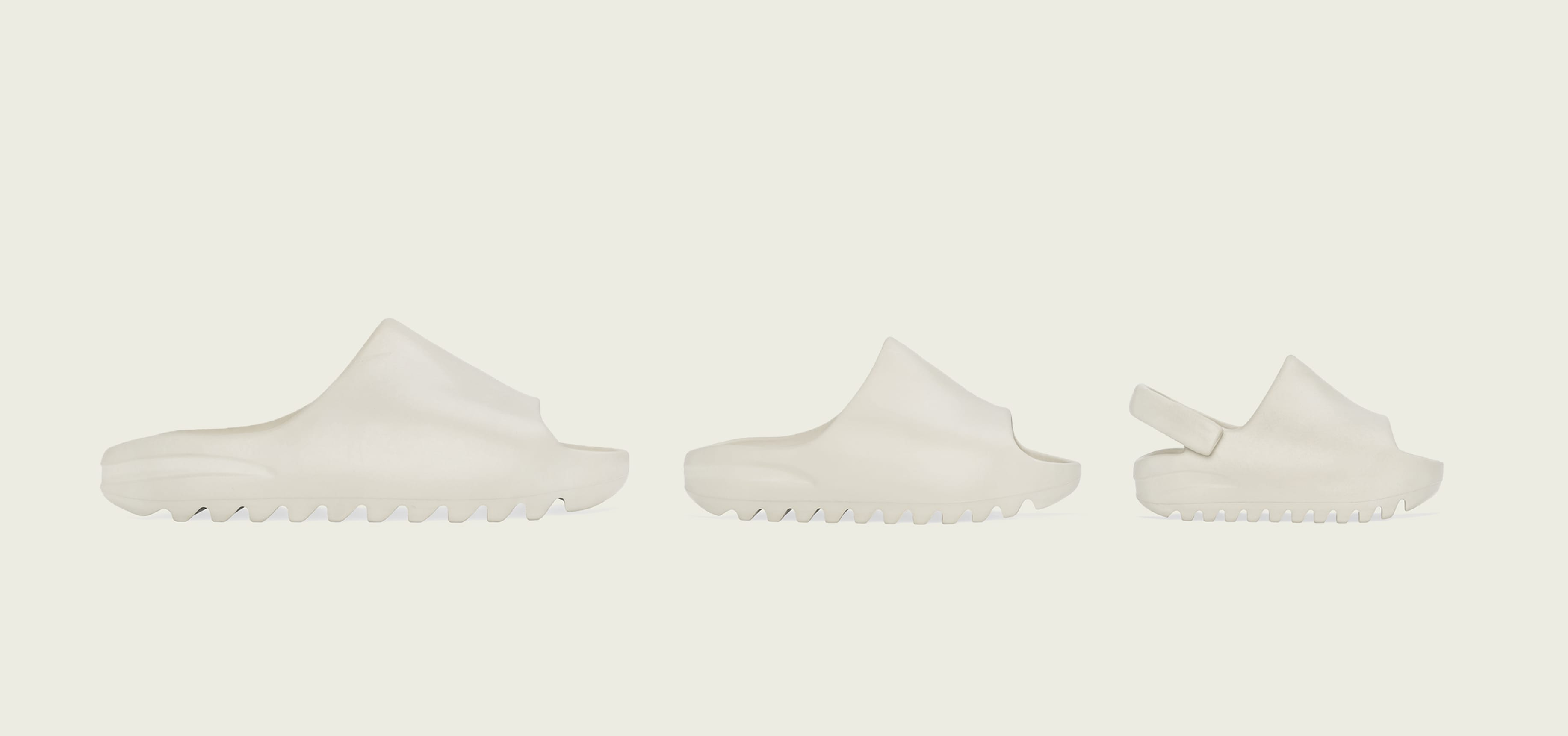 Adidas Yeezy Slide 'Bone' (Right)
