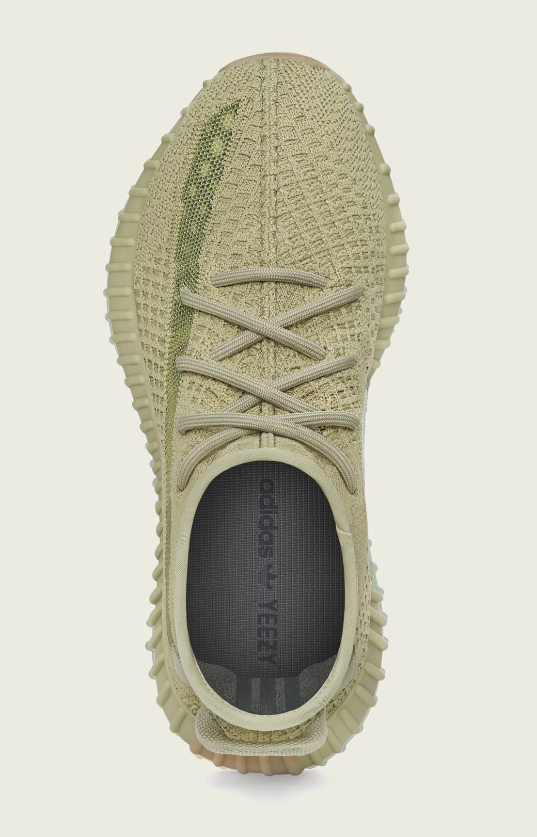 Adidas Yeezy Boost 350 V2 'Sulfur' FY5346 Top