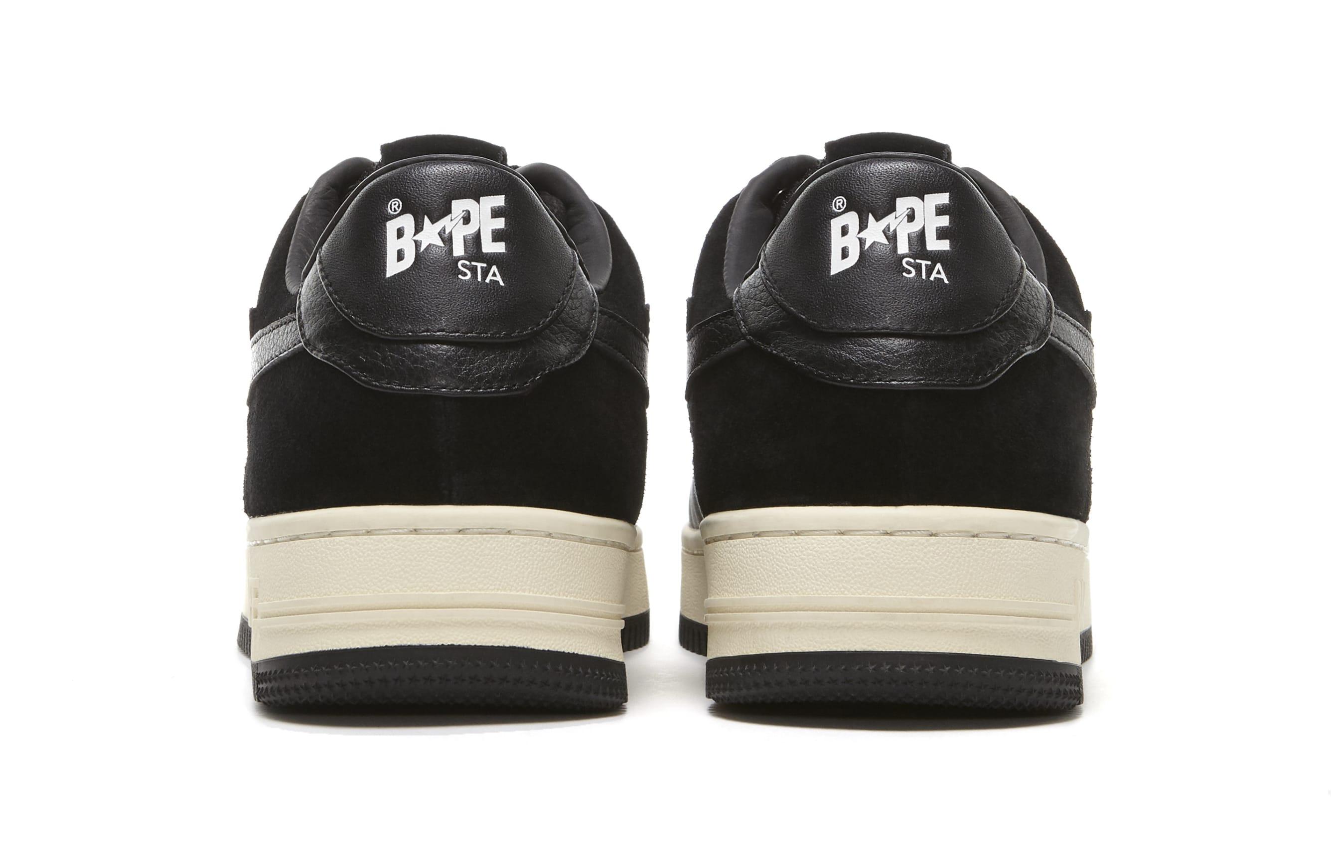 A Bathing Ape Bape Sta 'Black' Spring 2021 Heel