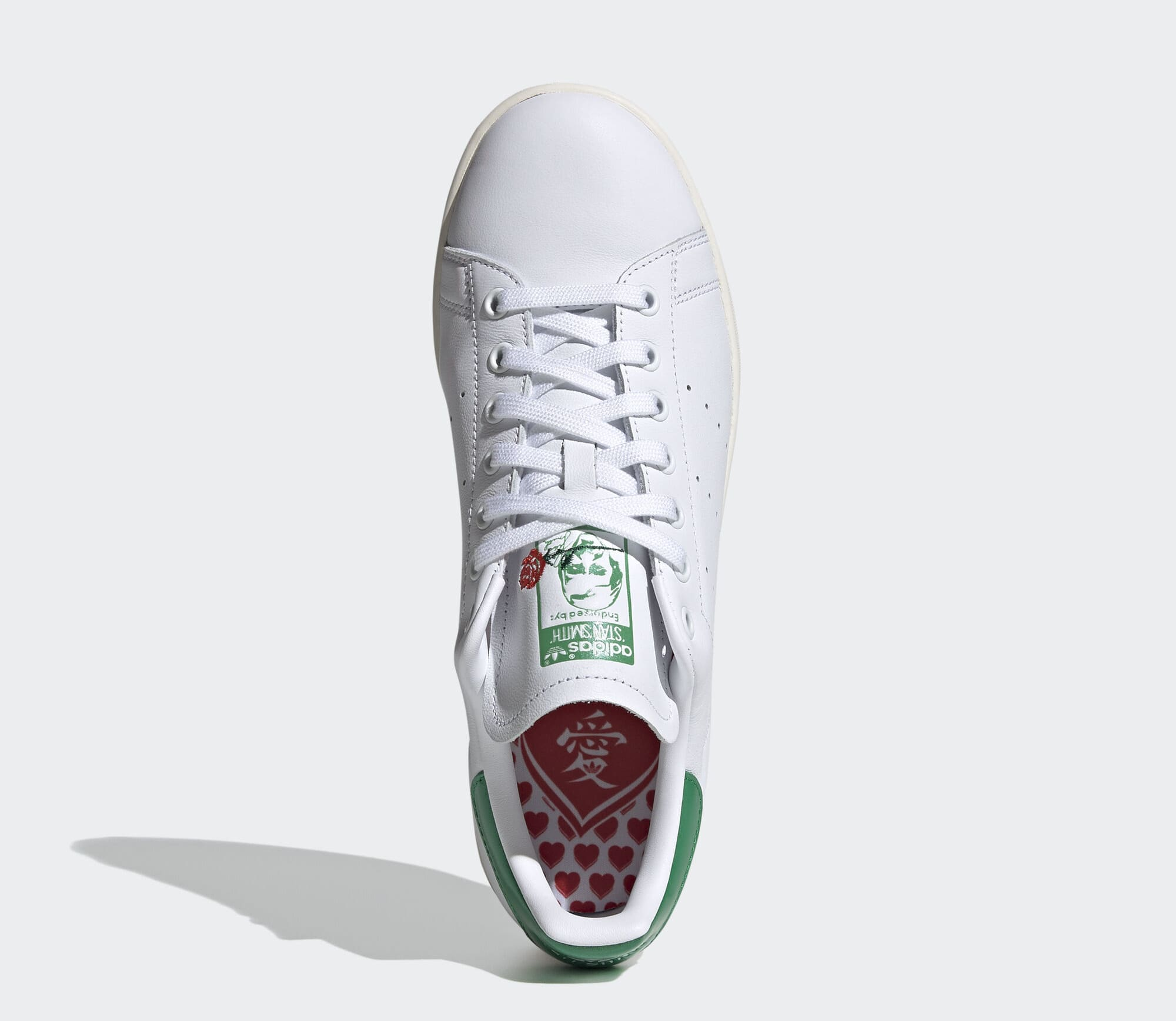 Adidas Stan Smith 'Valentine's Day' (Green) EH1735 (Top)