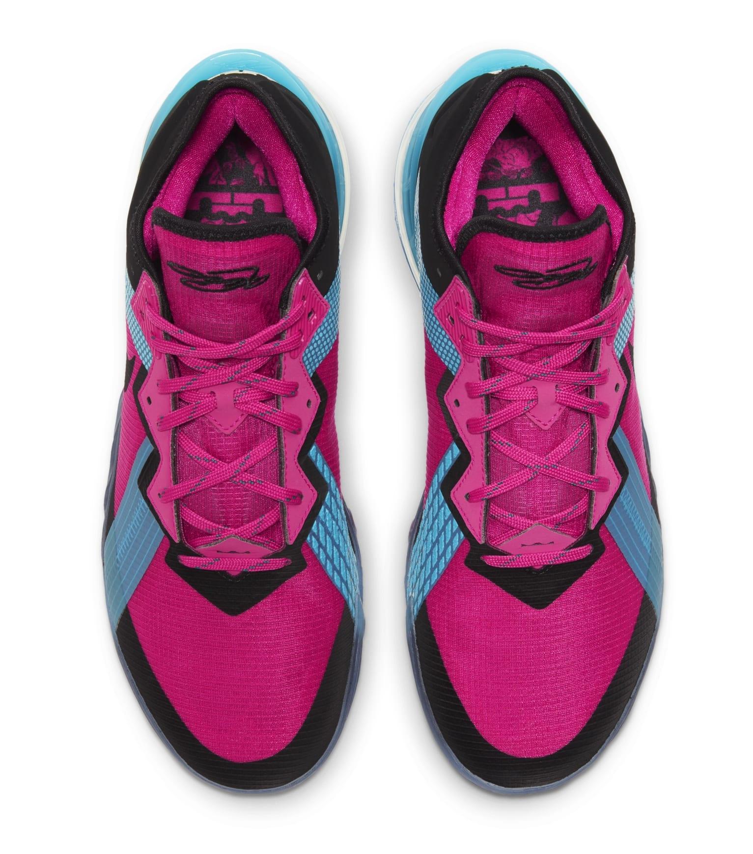Nike LeBron 18 Low 'Fireberry' CV7562-600 Top