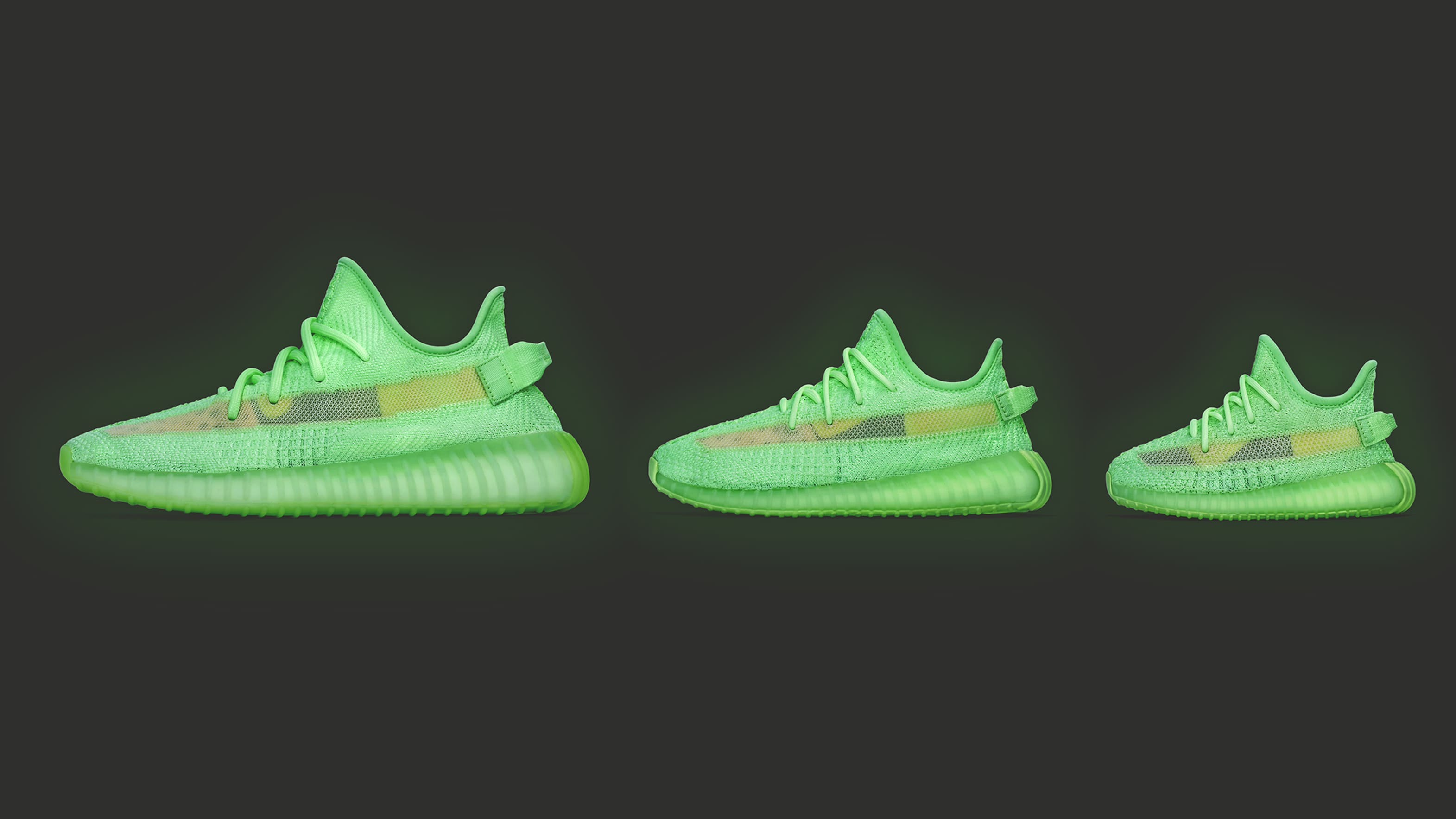 huge selection of 08f69 7f2a9 Adidas Yeezy Boost 350 V2 'Glow in the Dark' Release Date ...