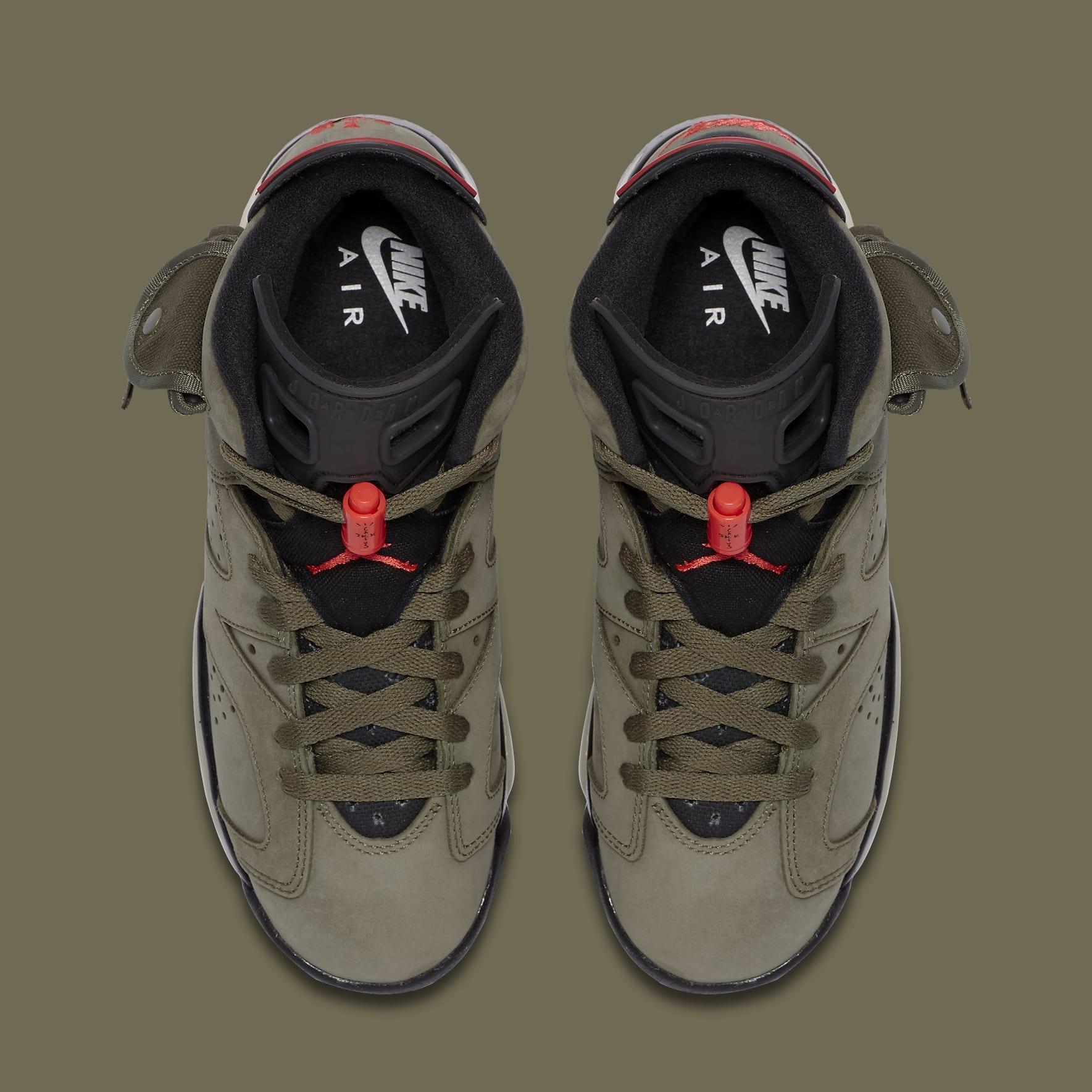 Air Jordan 6 VI Travis Scott GS Release Date CN1085-200 Top