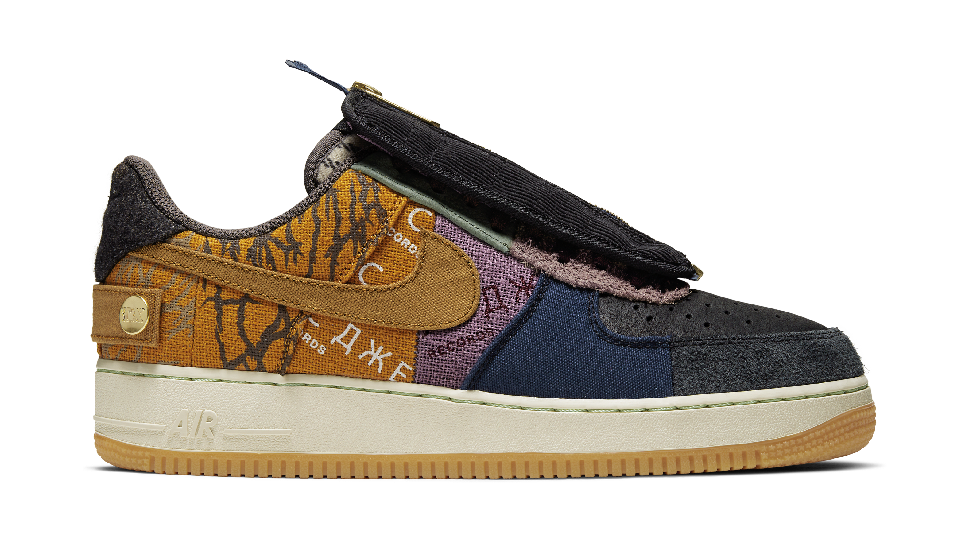 newest collection best place best online Travis Scott x Nike Air Force 1 Low 'Multi-Color/Muted ...