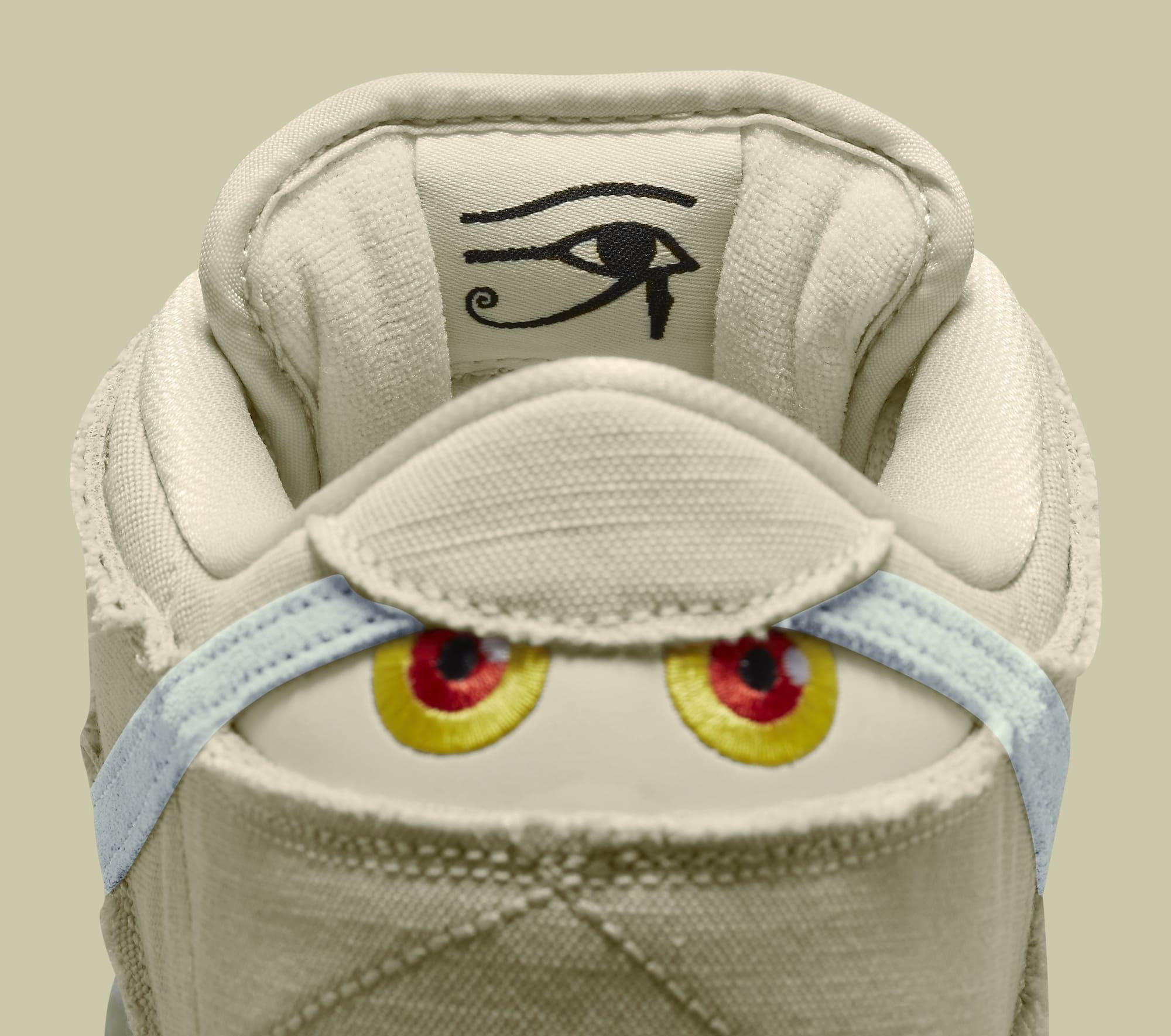 Nike SB Dunk Low 'Mummy' DM0774-111 Tongue