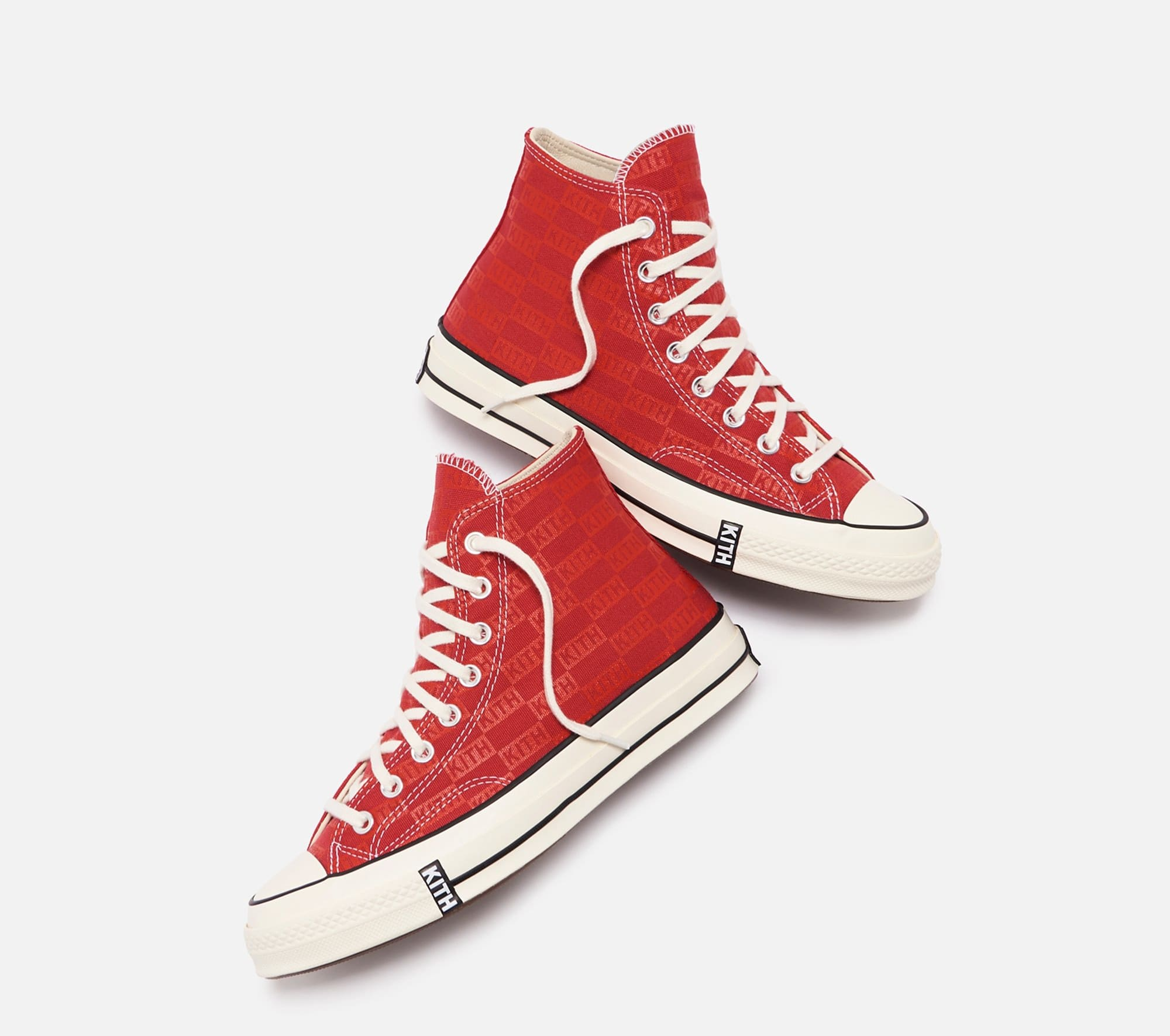 Kith x Converse Chuck 70 'Red' (Pair 2)