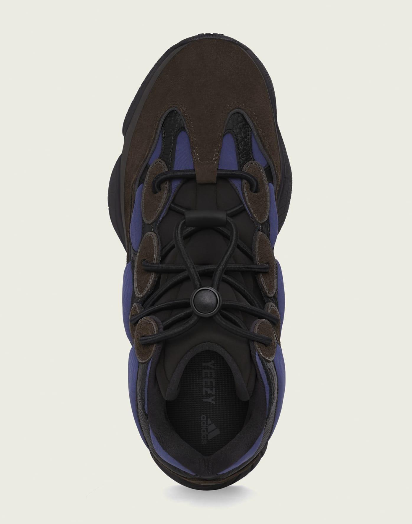 Adidas Yeezy 500 High 'Tyrian' FY4269 Top