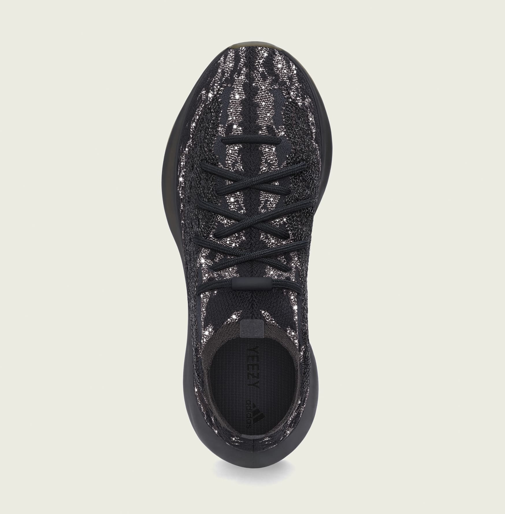 Adidas Yeezy Boost 380 'Onyx Reflective' H02536 Top