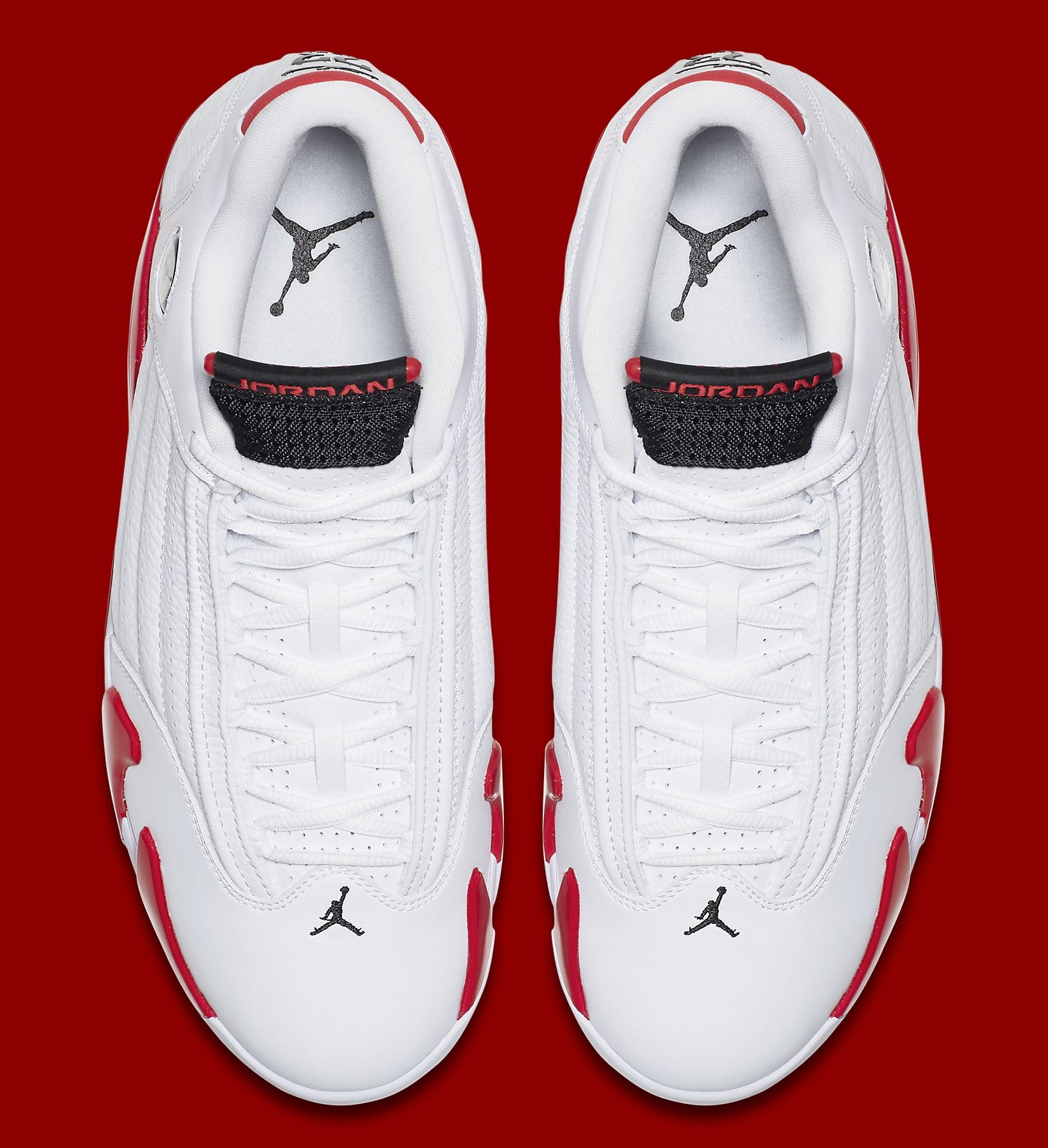 timeless design 5371c 2fb5c Image via Nike Air Jordan 14 Retro  Candy Cane 2019  487471-100 Top