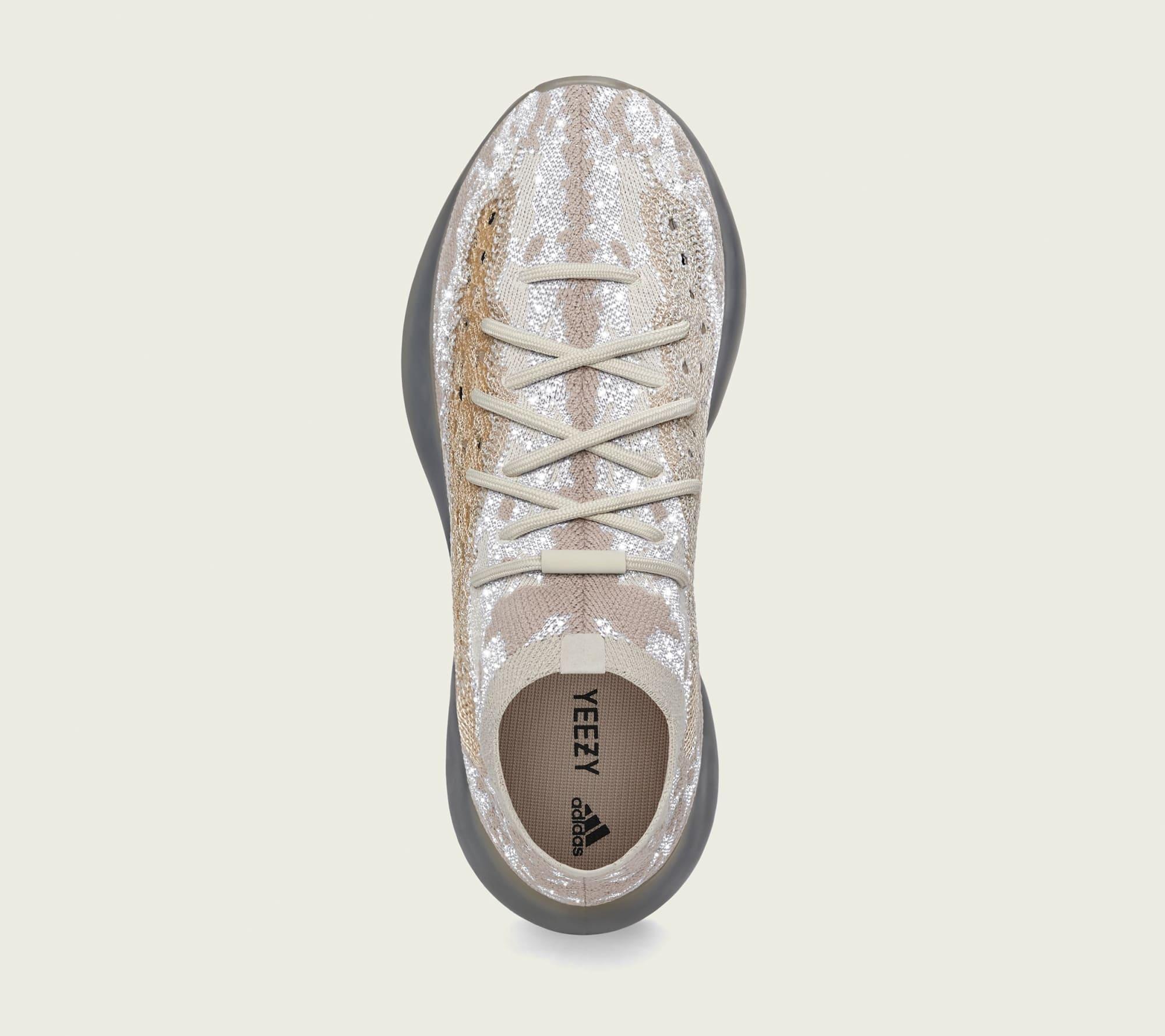 Adidas Yeezy Boost 380 'Pepper Reflective' FZ4977 Top