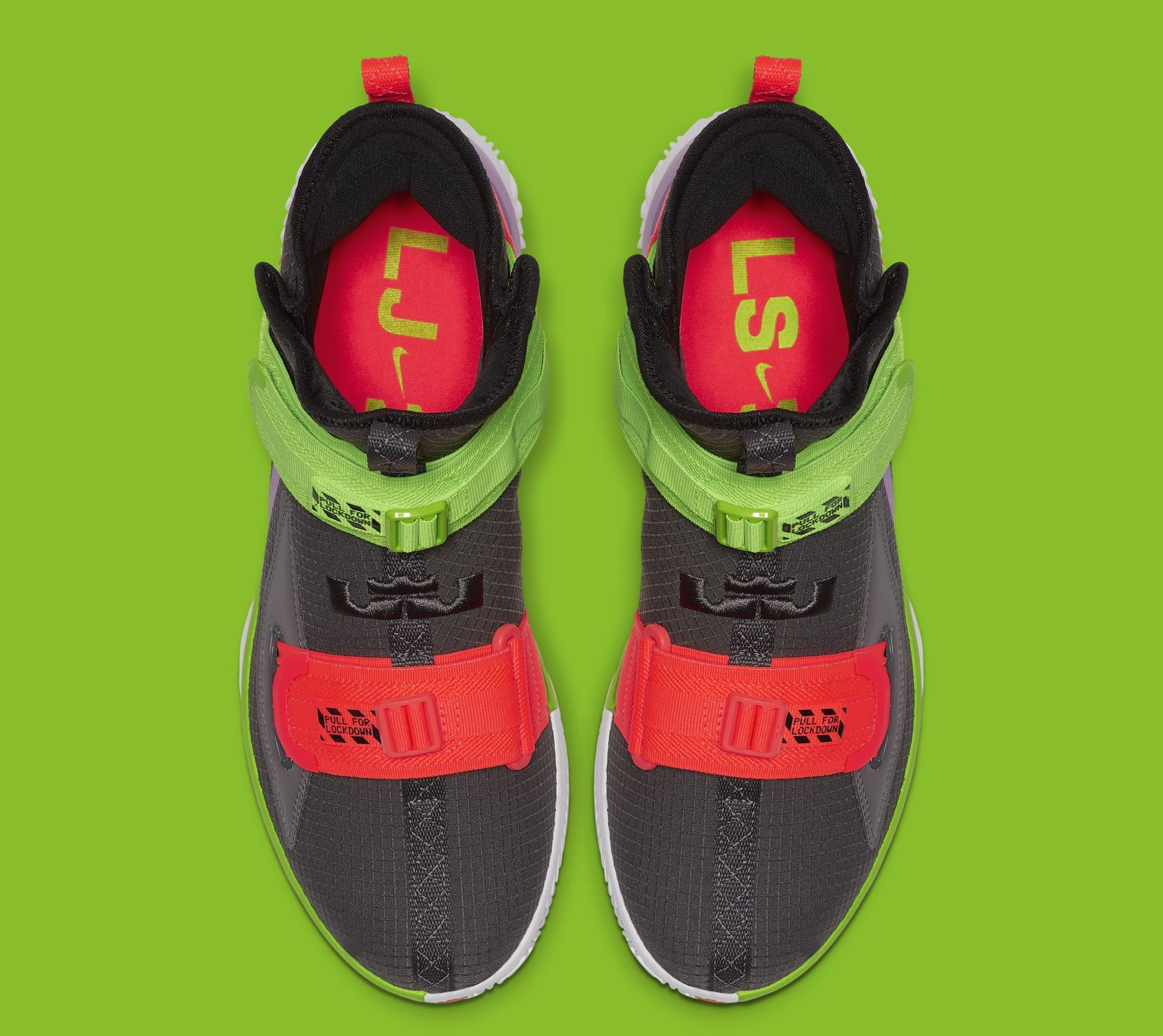the latest b83fd 33875 Nike LeBron Soldier 13 'Thunder Grey' AR4228-002 Release ...