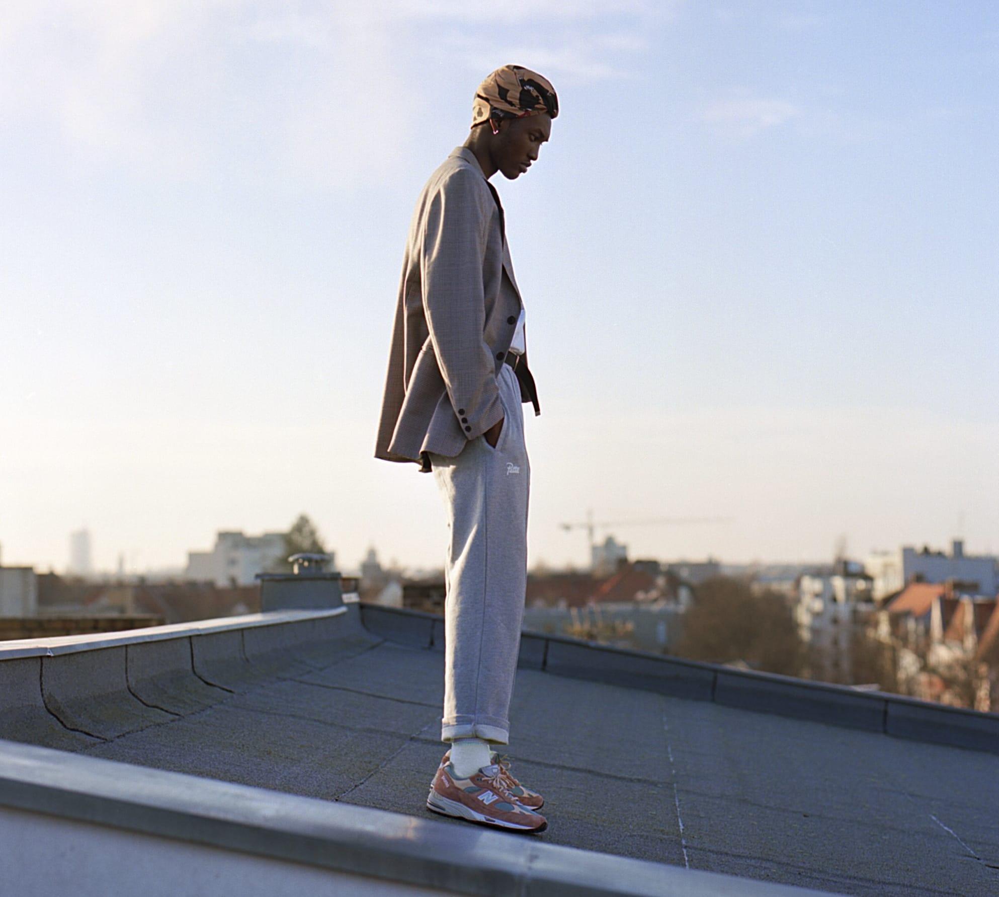 Patta x New Balance 991 On-Feet