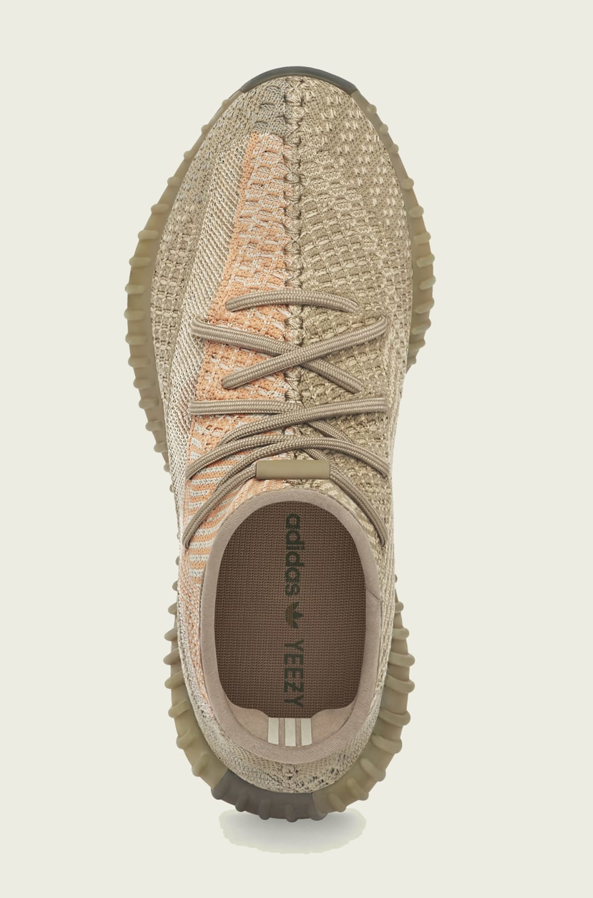 Adidas Yeezy Boost 350 V2 'Sand Taupe' FZ5240 Top