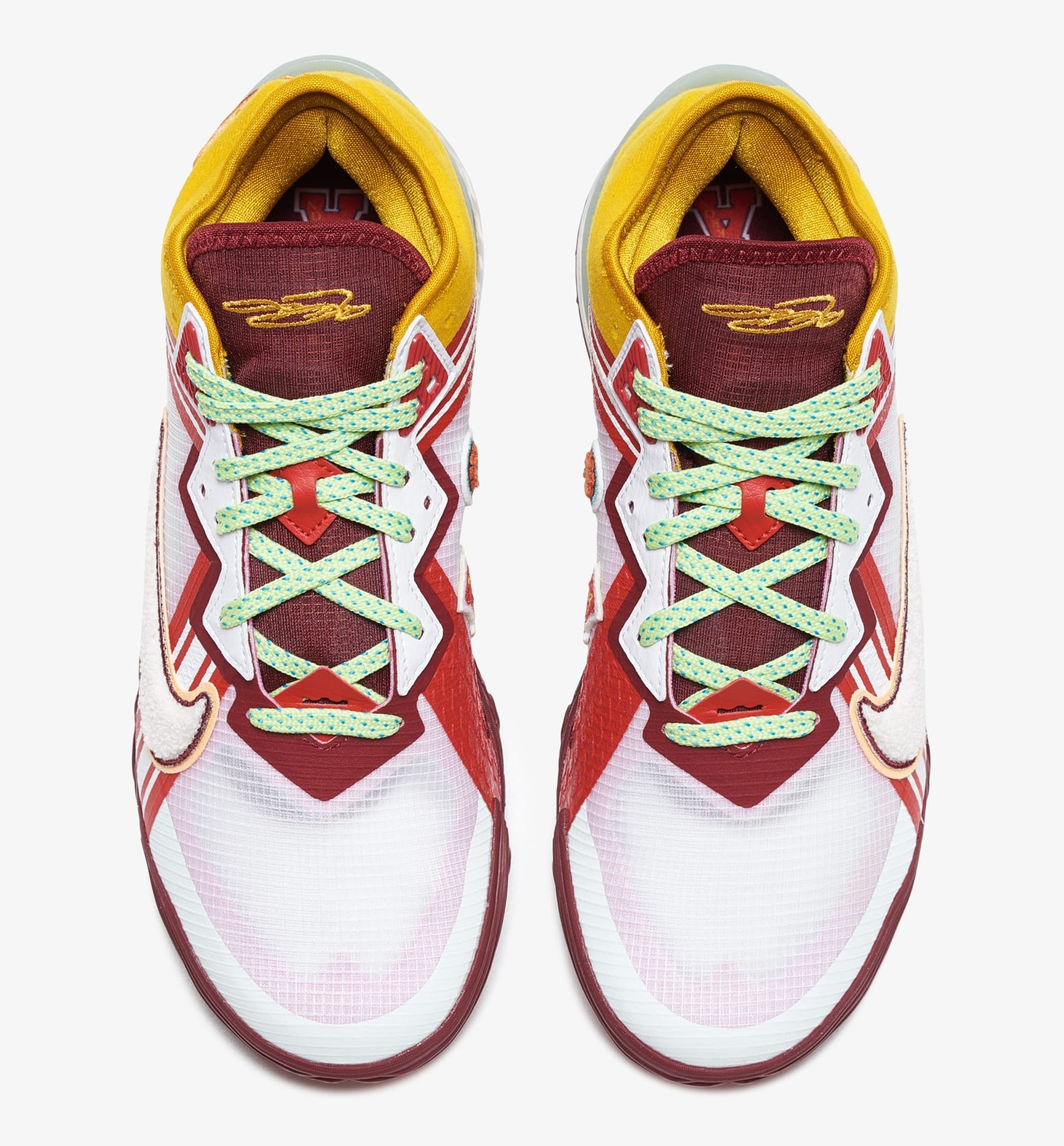 Mimi Plange x Nike LeBron 18 Low 'Higher Learning' CV7562-102 Top