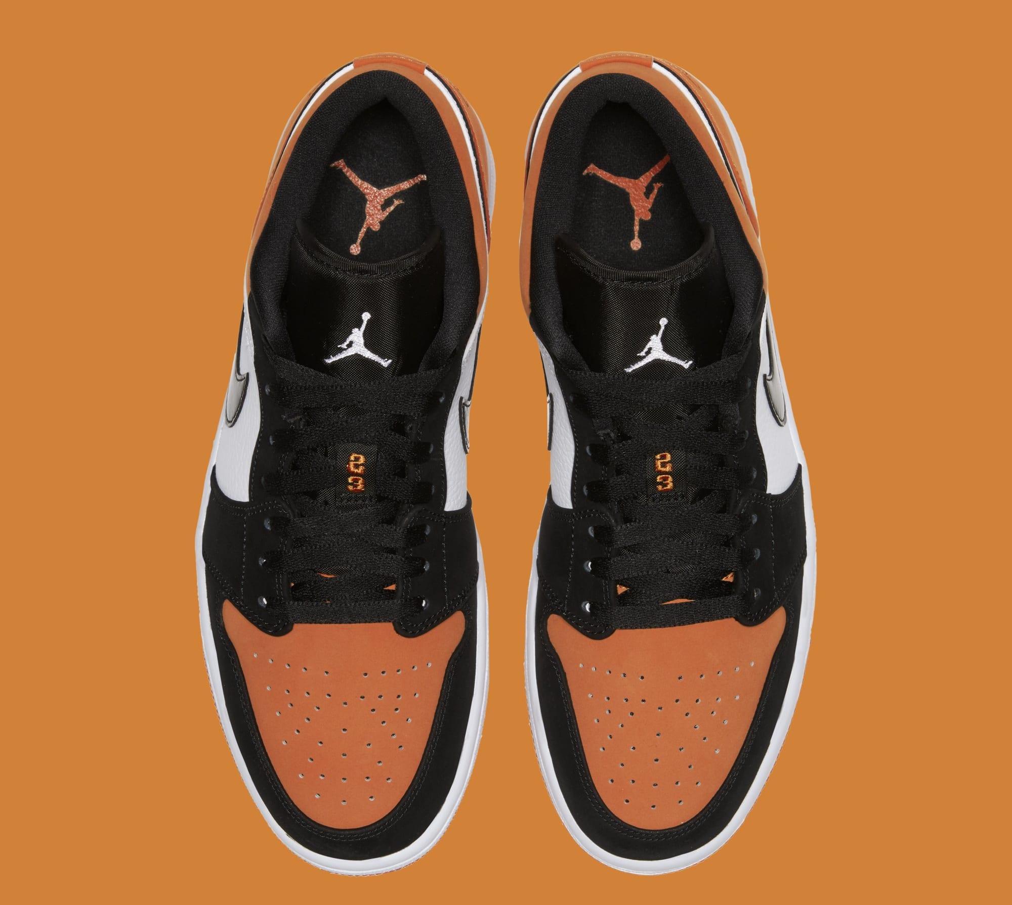 sportowa odzież sportowa Cena obniżona wyglądają dobrze wyprzedaż buty Air Jordan 1 Low 'Shattered Backboard' Black/White-Starfish ...