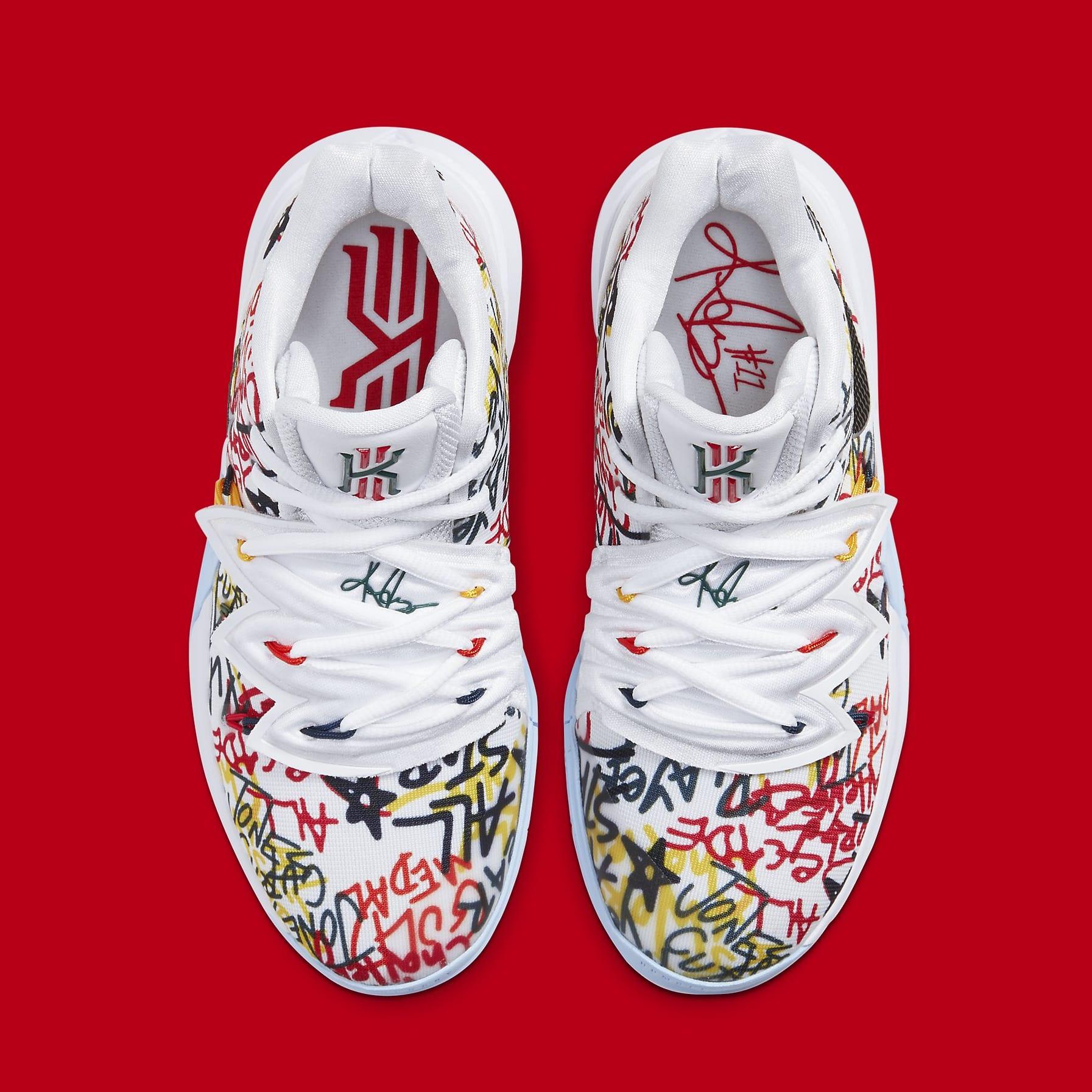 Nike Kyrie 5 Sue Bird Fresh Release Date CW4403-100 Top
